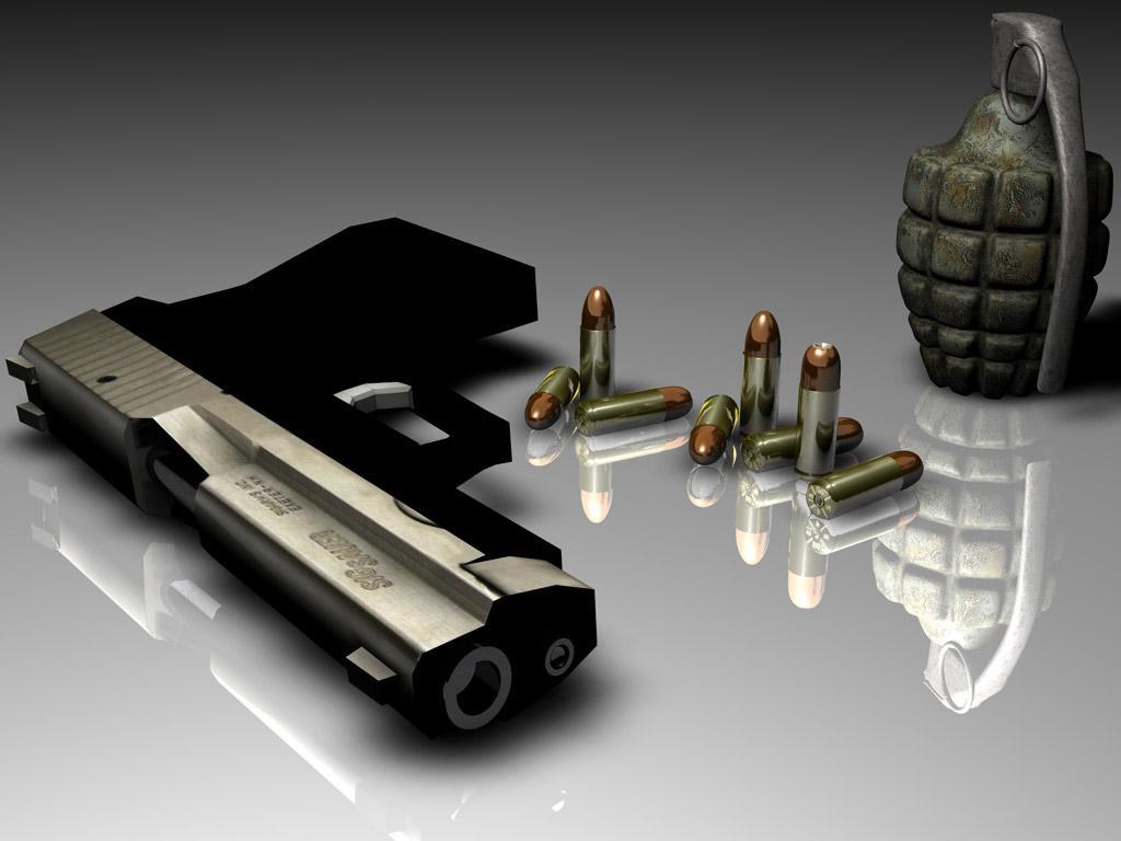Fotos von Pistolen Handgranate Heer
