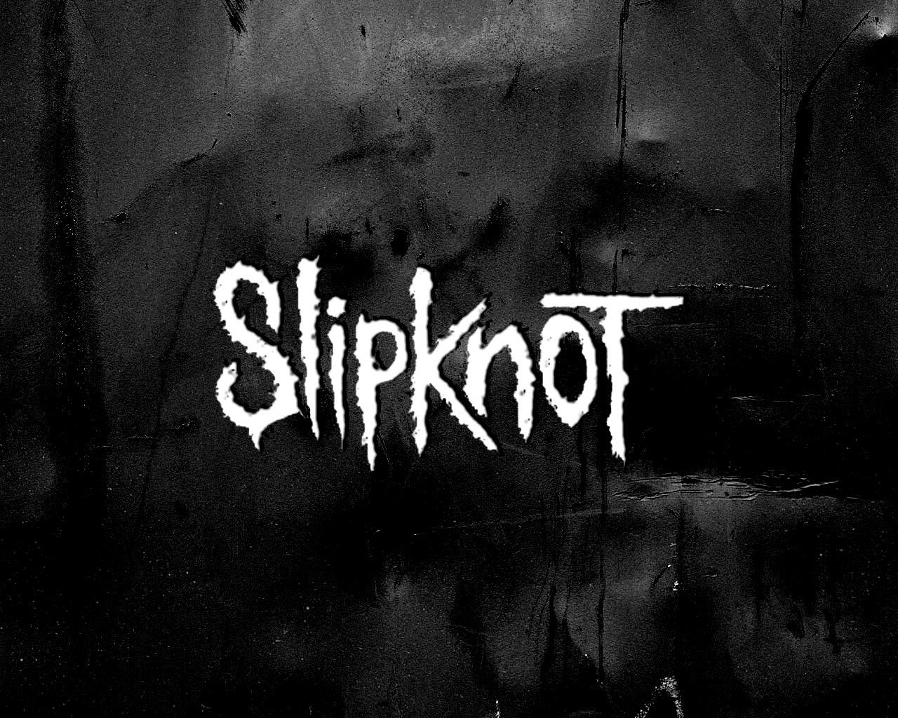 スリップノットの壁ロゴ