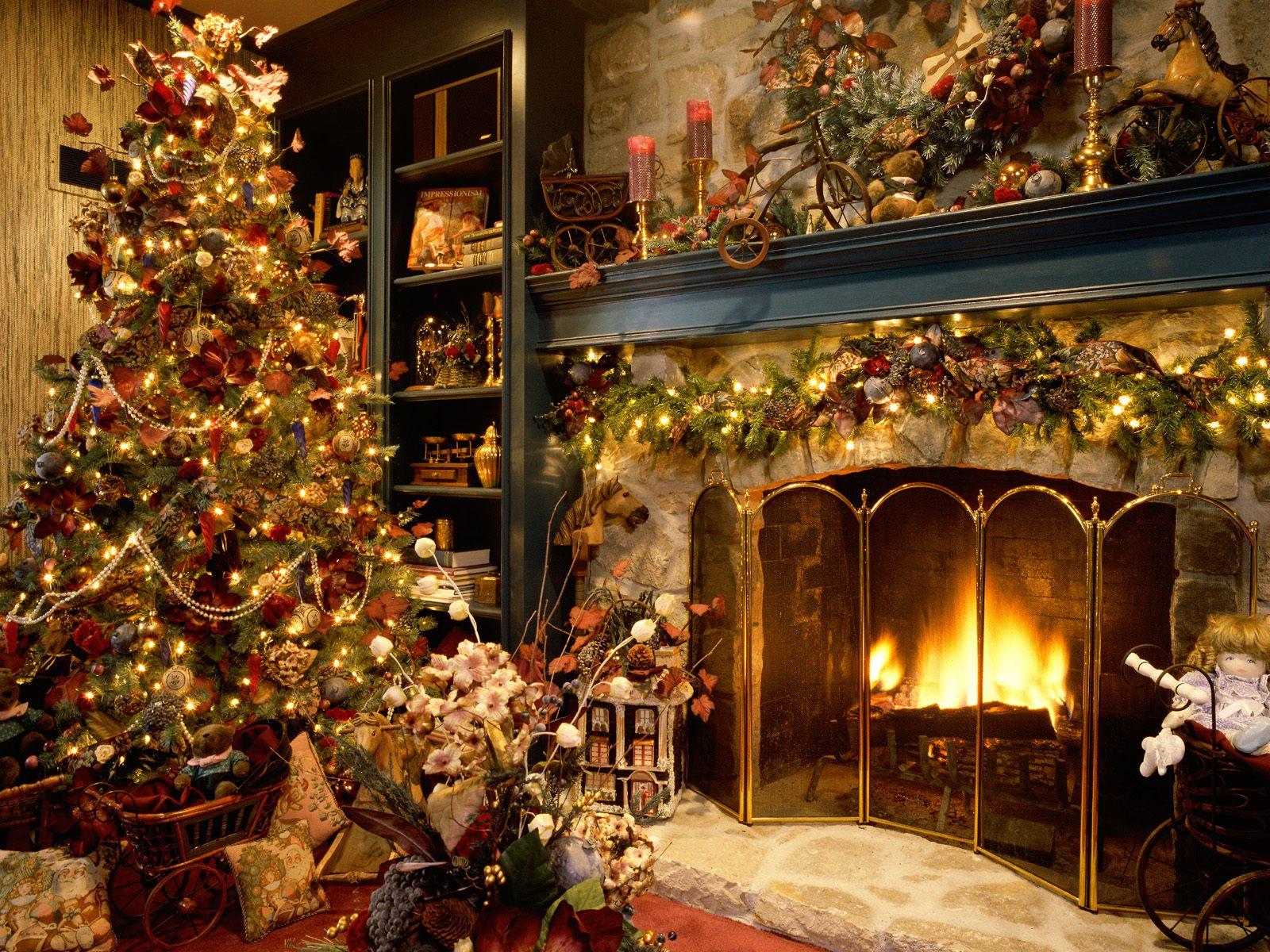 Fondos De Pantalla Ano Nuevo Dia Festivos Arbol De Navidad