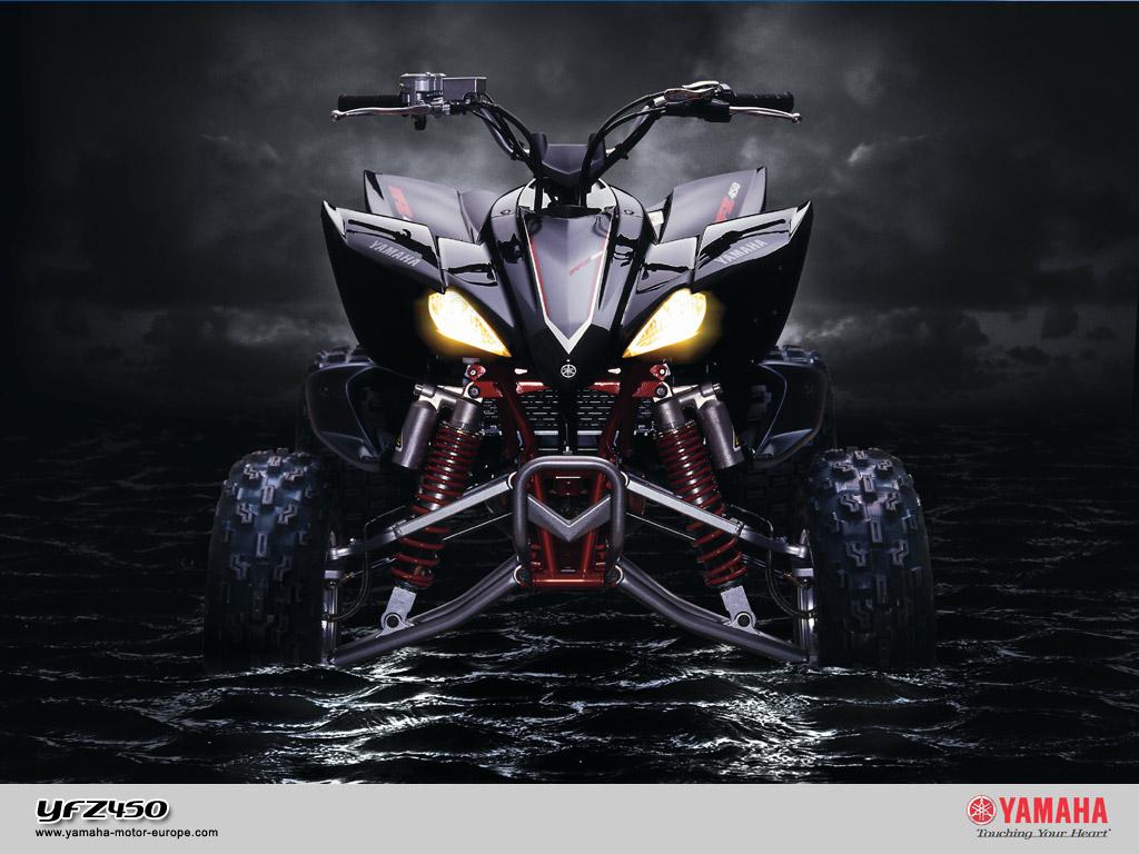 Picture Yamaha Atv Motorcycle