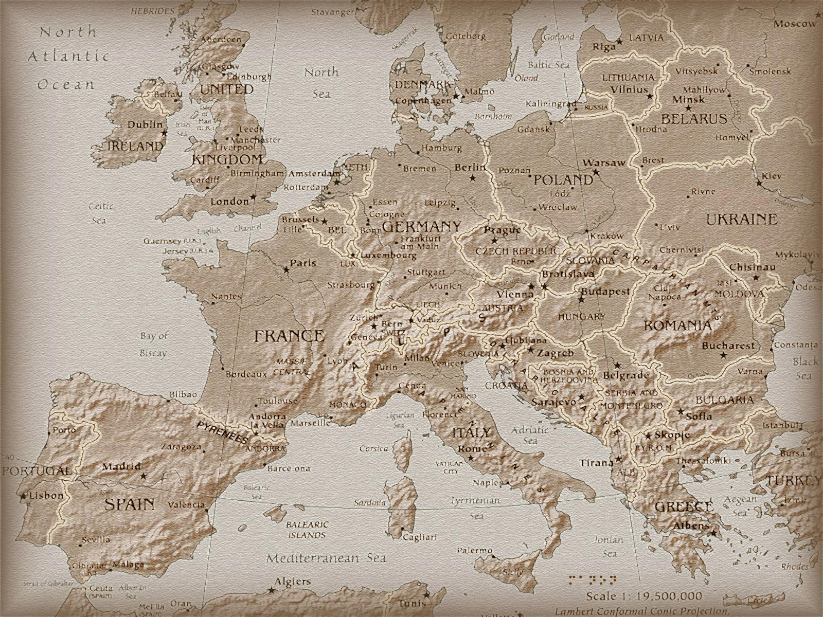 Pictures Map Geography