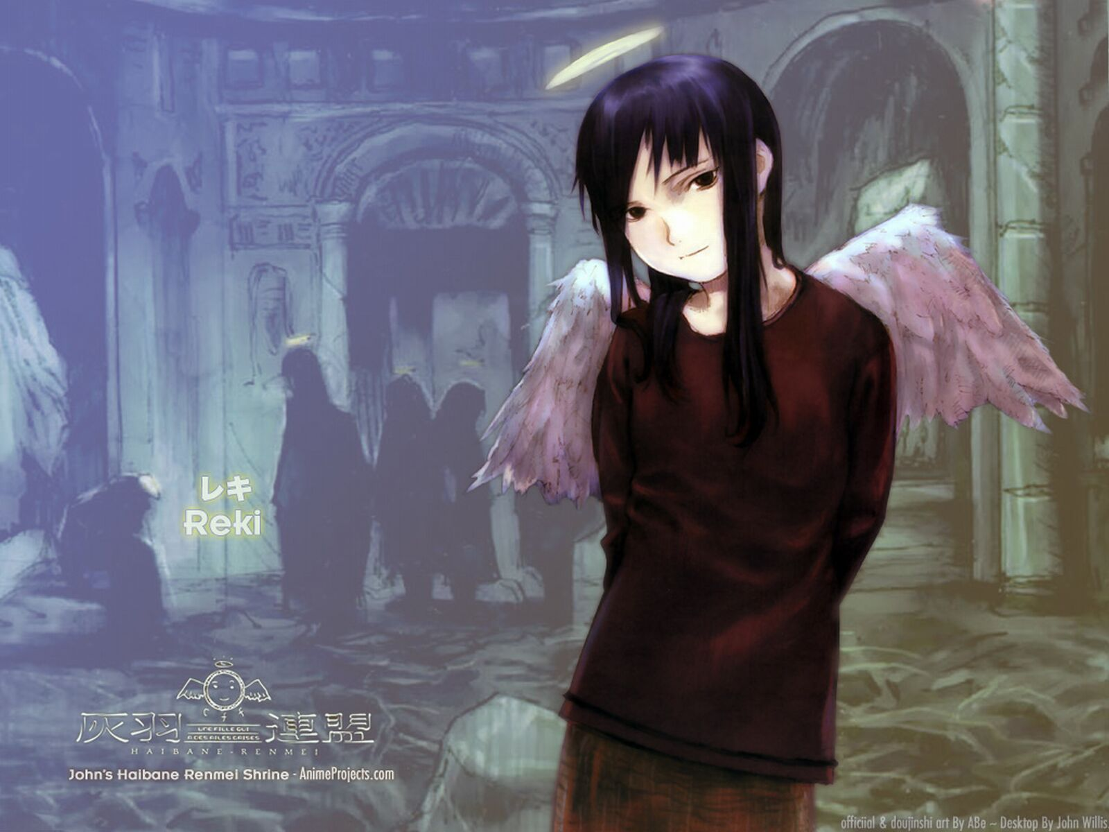 Picture Haibane Renmei Anime