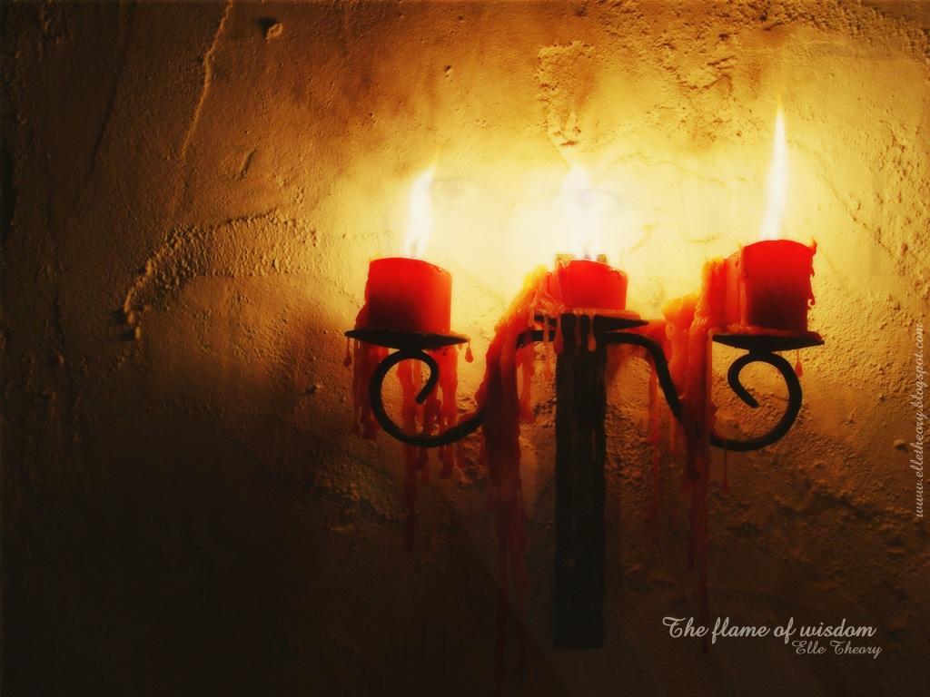 Wallpaper Candles 1024x768