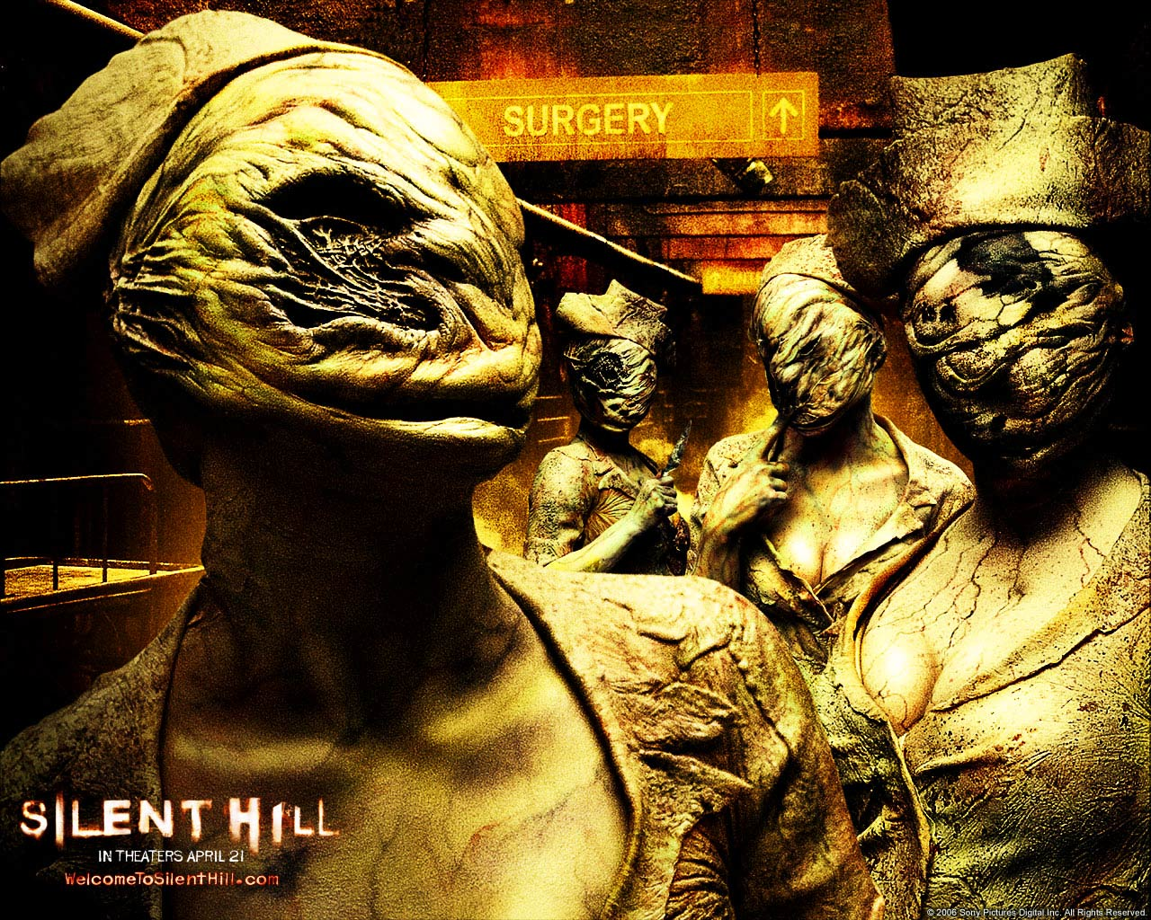 silent hill movie all monsters