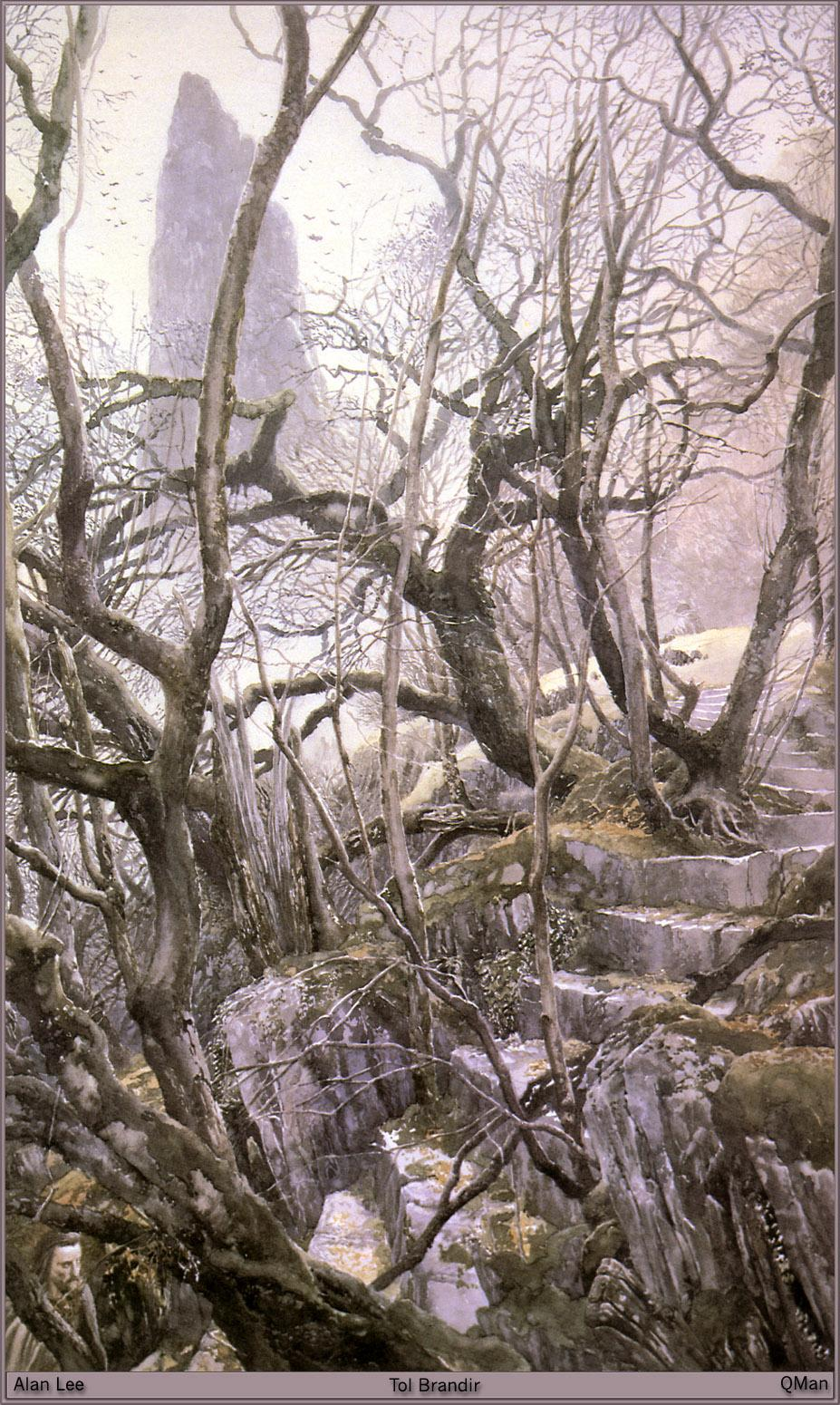 Wallpaper Alan Lee Fantasy Branches  for Mobile phone