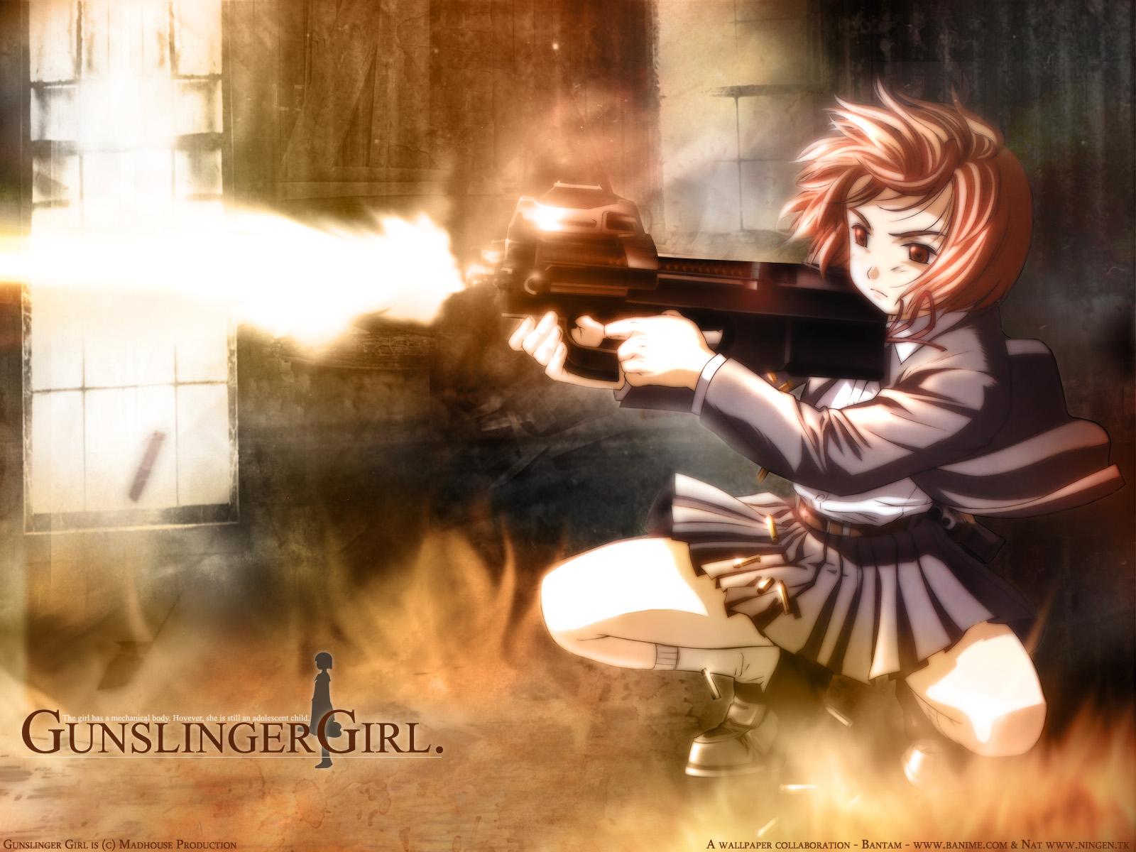 Fonds D Ecran Gunslinger Girl Anime Telecharger Photo