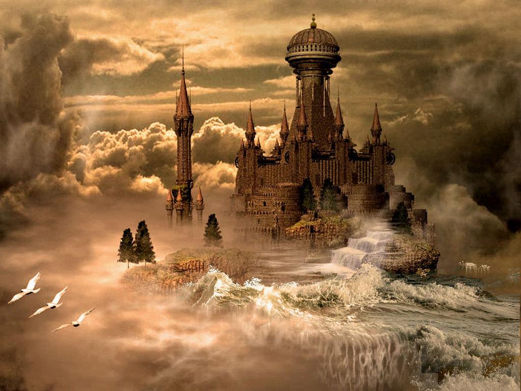 Un Chateau Dans Les Nuages photo fantasy fantastic world