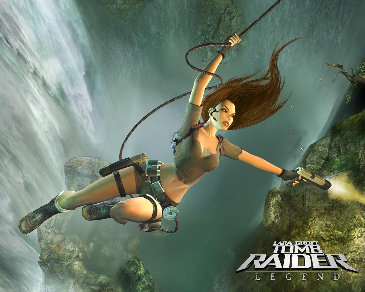 Fondos De Pantalla Tomb Raider Tomb Raider Legend Salto Lara