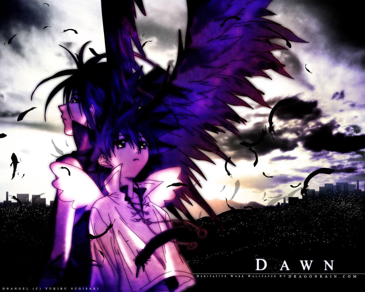 Wallpaper Dnangel Anime