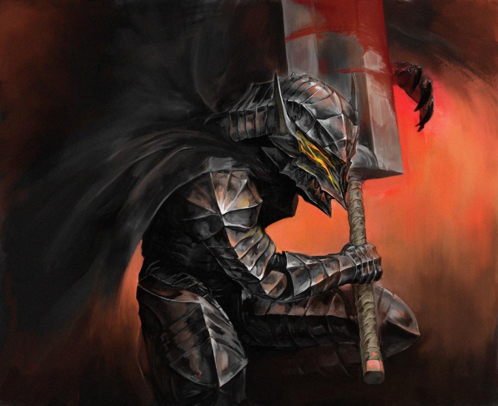 ベルセルク血のついた剣