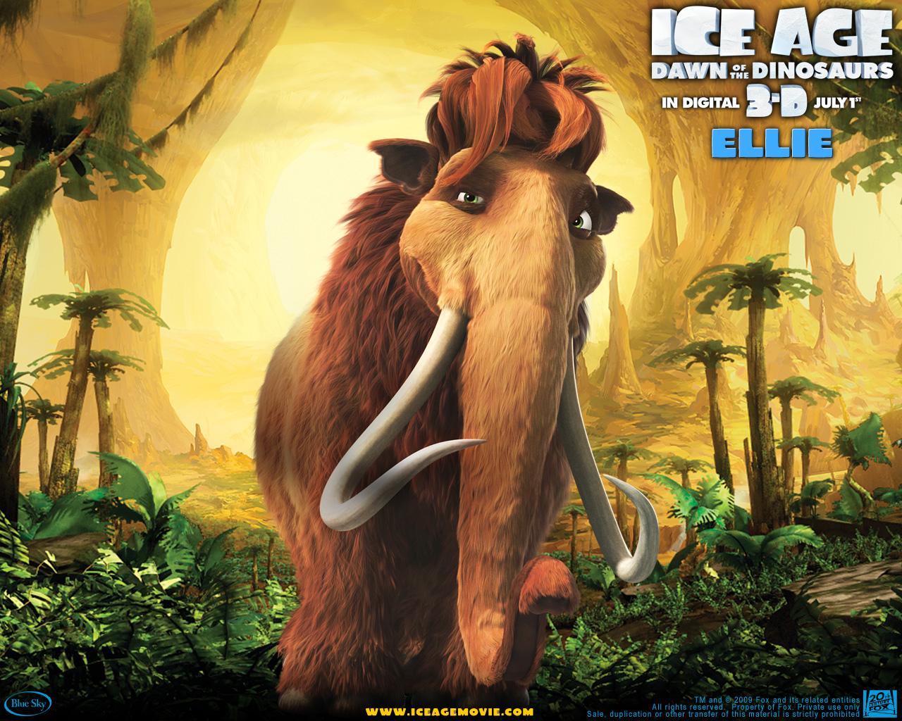 photos ice age mammoth cartoons