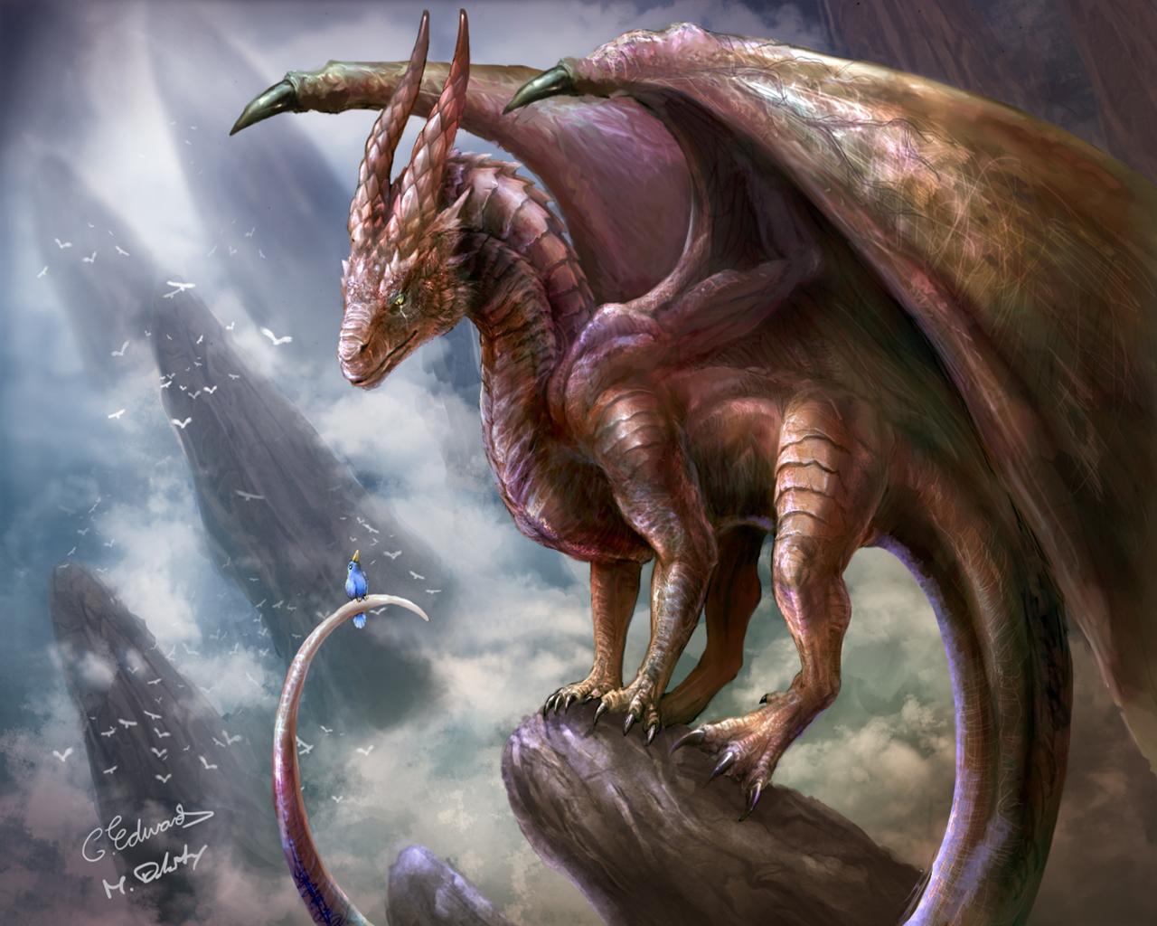 Wallpapers Dragons Fantasy