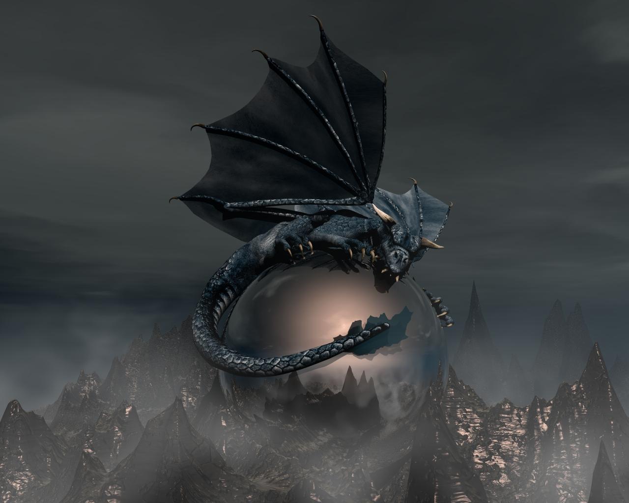 Fonds Decran Dragons 3d Graphiques Fantasy Télécharger Photo