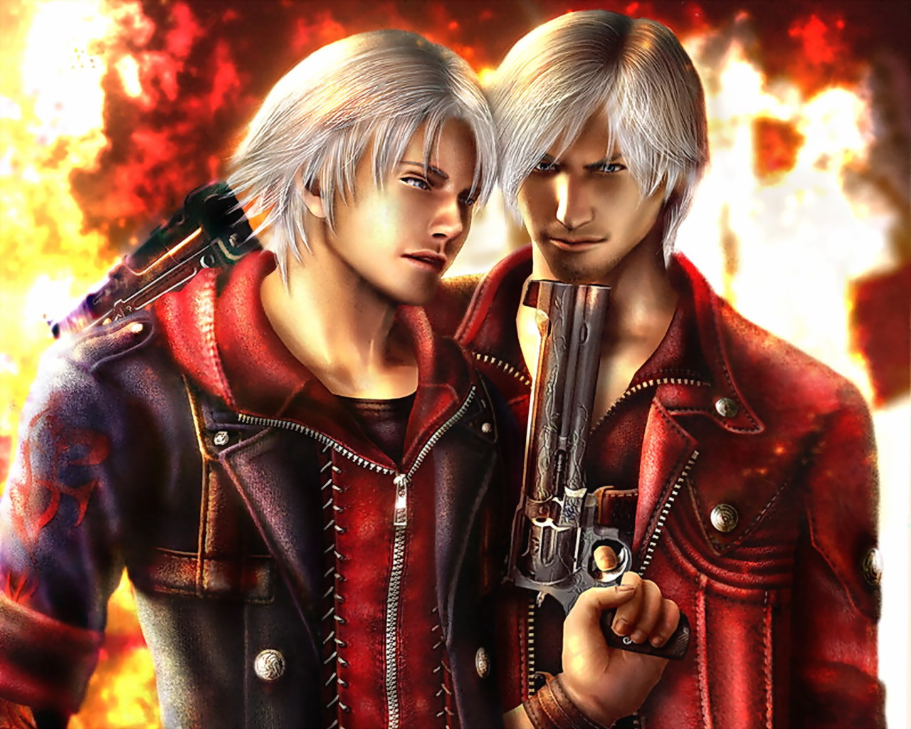Wallpapers Dante Devil May Cry Devil May Cry 4 Games