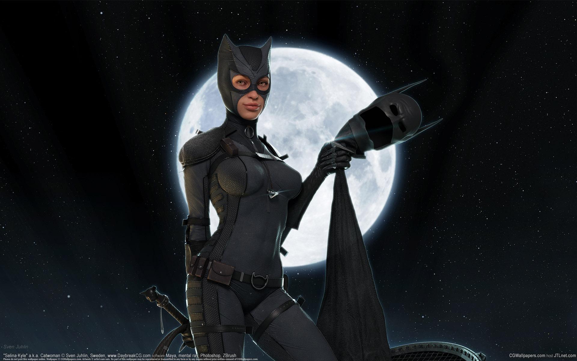 Wallpaper Heroes Comics Catwoman Hero Fantasy