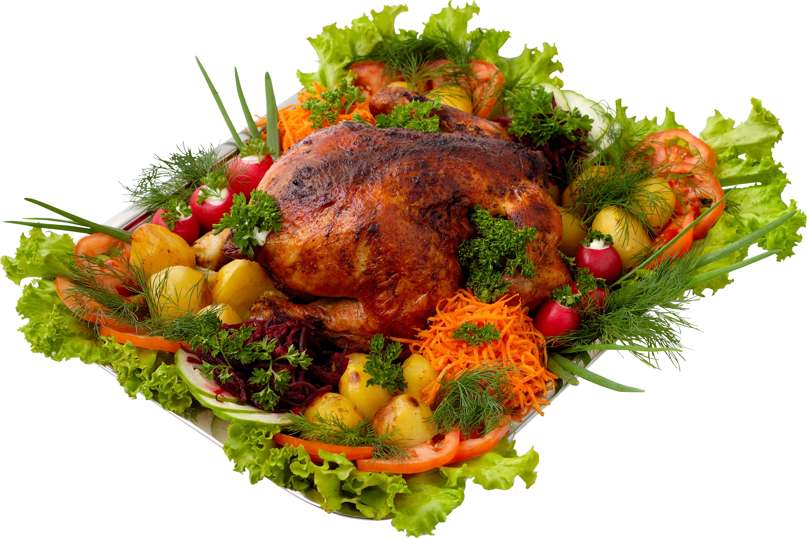 Photo Roast Chicken Food Meat products