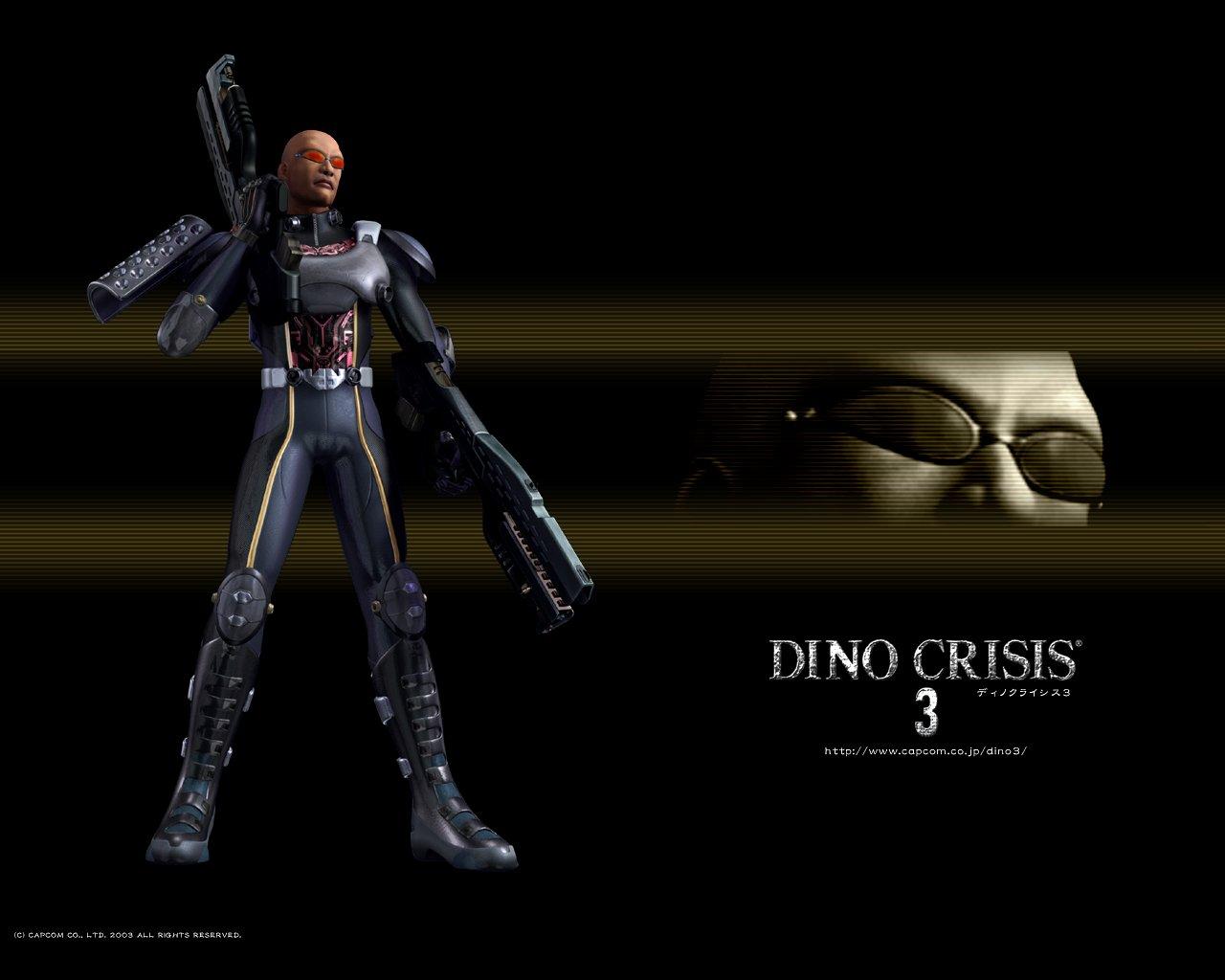 Wallpaper Dino Crisis vdeo game