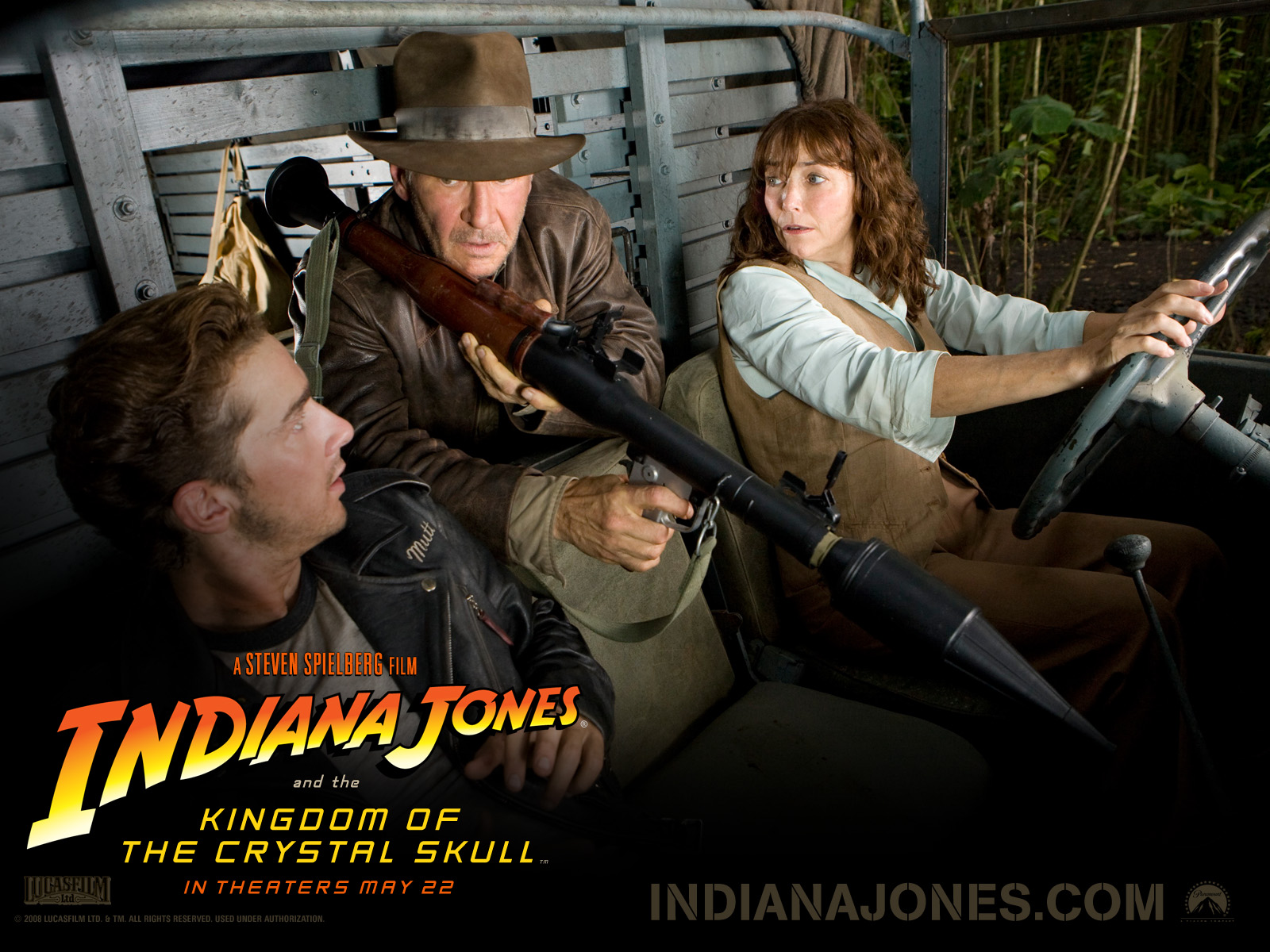 Desktop Wallpapers Indiana Jones Indiana Jones and the Kingdom of the Crystal Skull Movies film