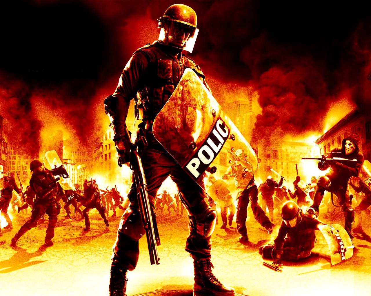 Images Urban Chaos: Riot Response Games