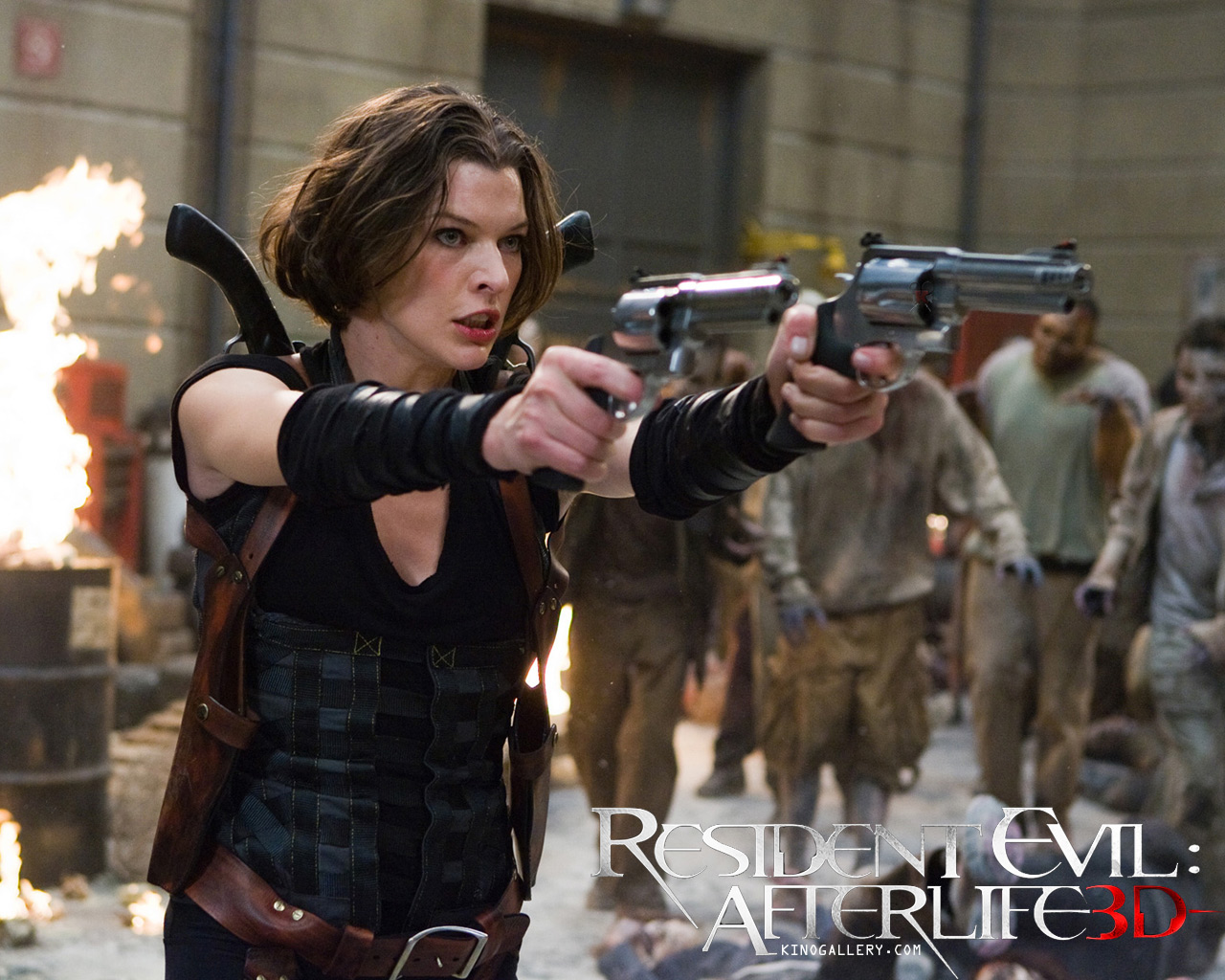 Desktop Wallpapers Resident Evil - Movies Resident Evil 4: Afterlife Milla Jovovich Movies film