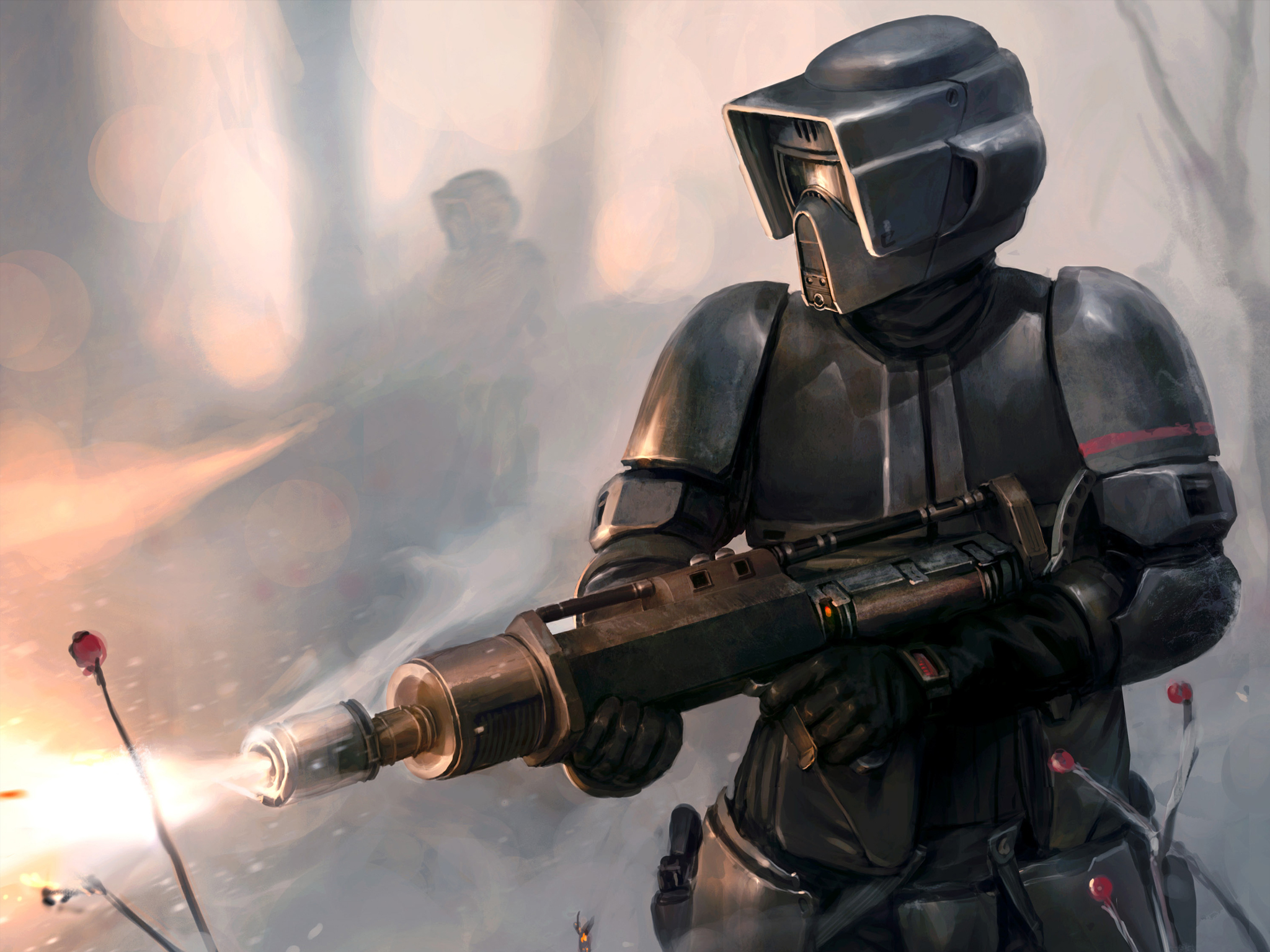 Wallpaper Star Wars Armor Warriors Fantasy 2048x1536