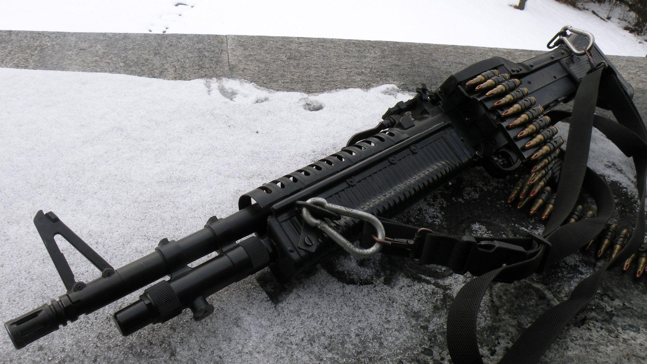 Images Machine Guns Army 2560x1440