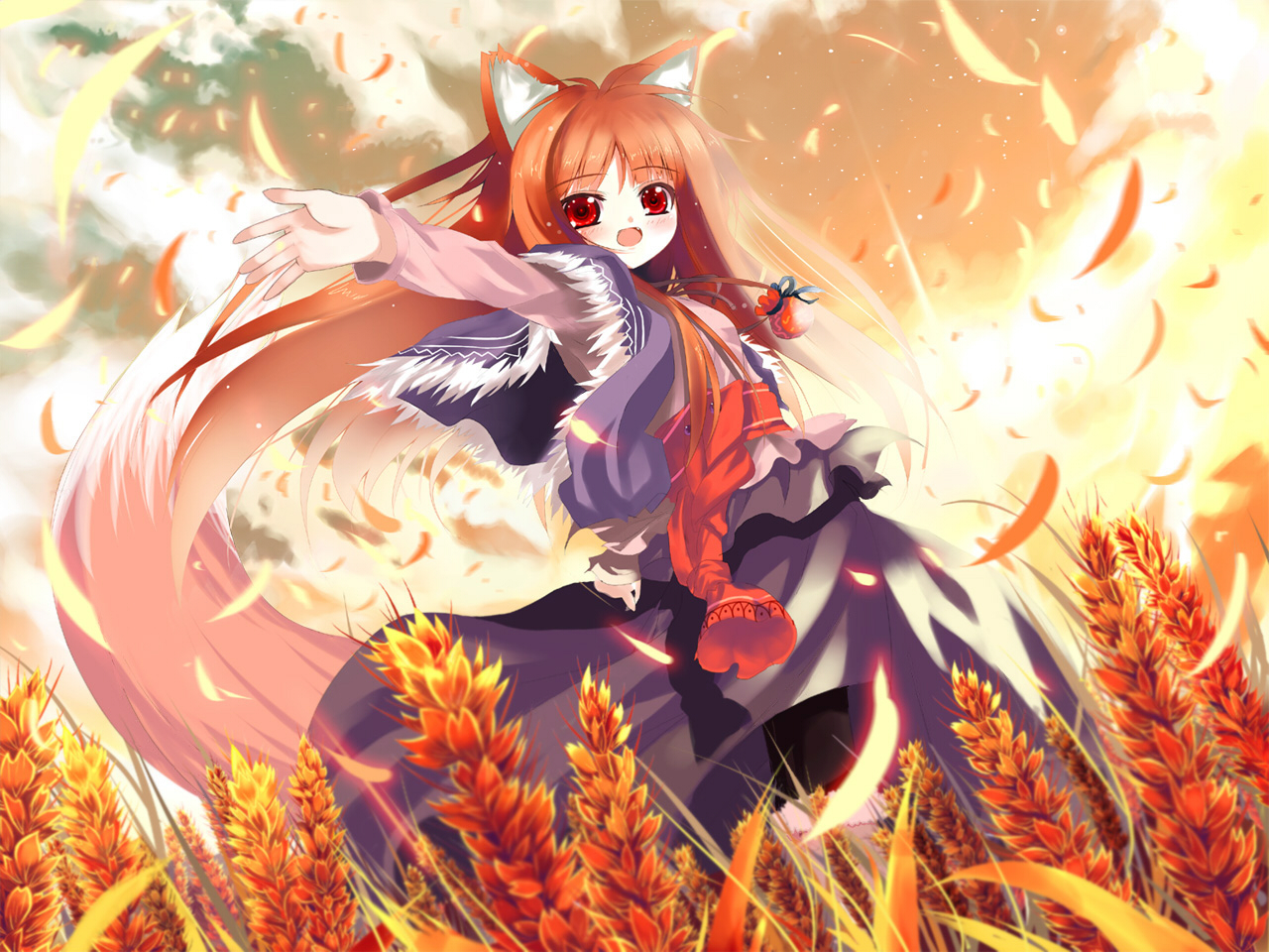 Picture Spice And Wolf Anime