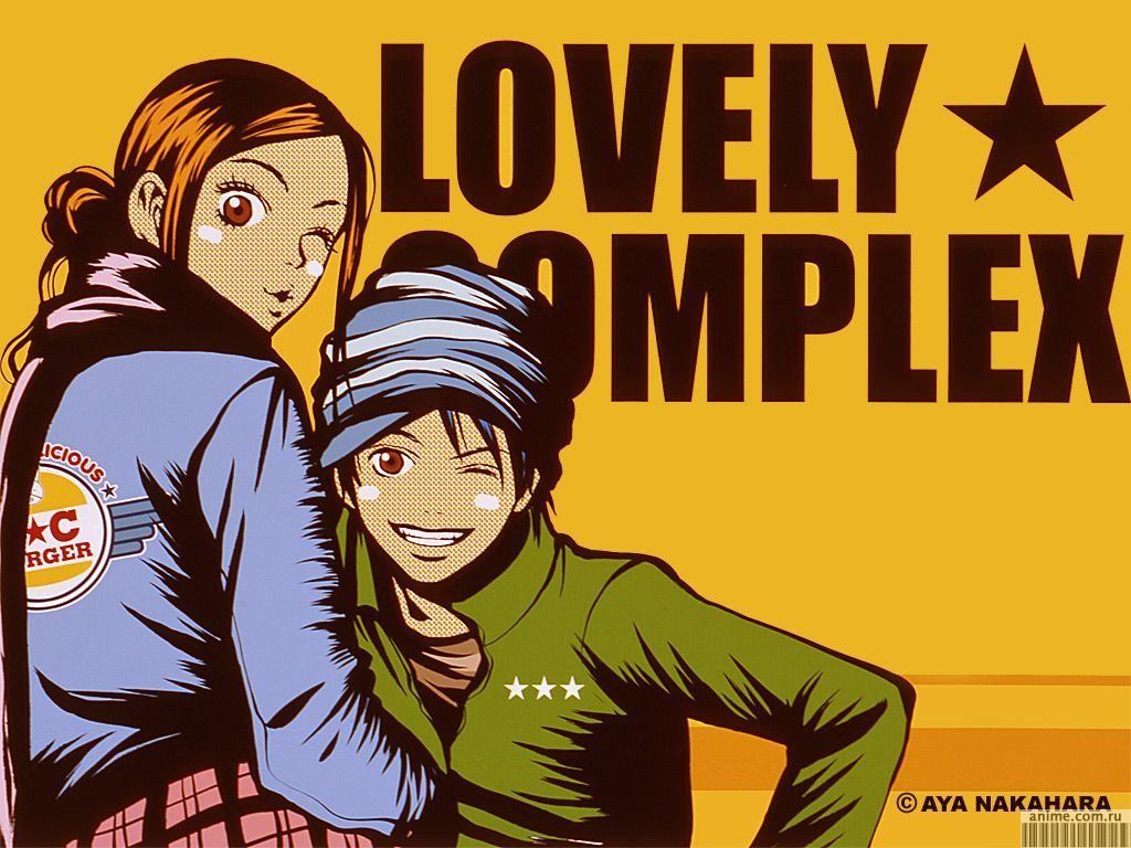 Фото lovely complex аниме.