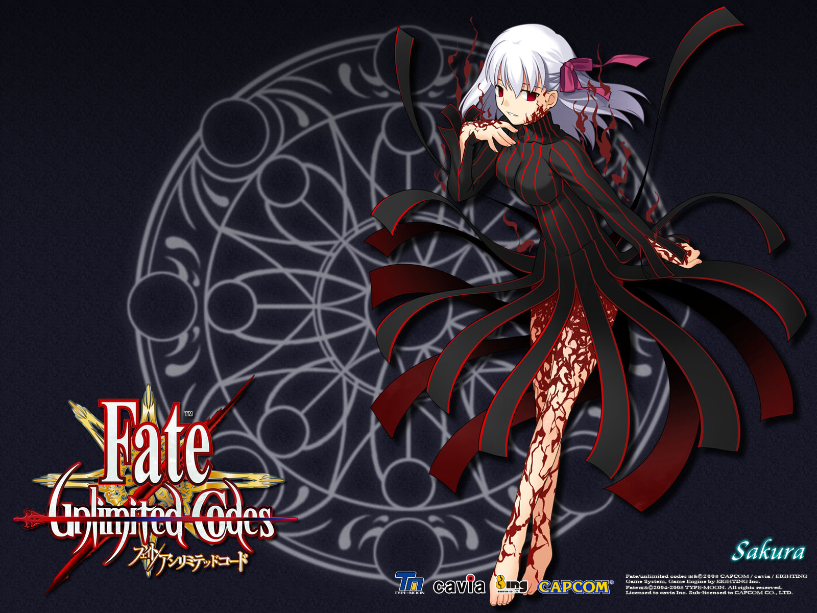 壁紙 Fate Unlimited Codes ゲーム ダウンロード 写真