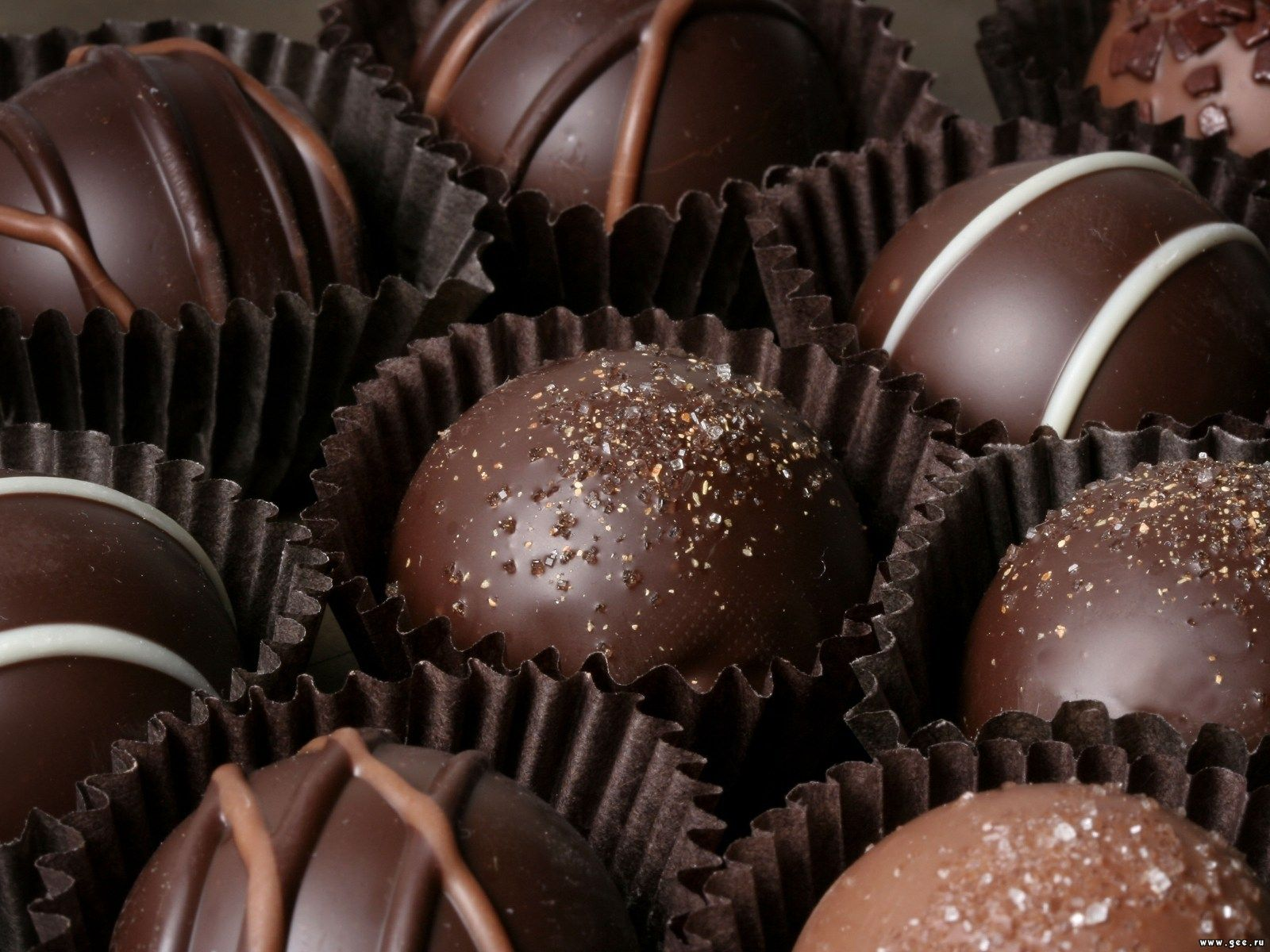 Wallpaper Chocolate Candy Food Sweets