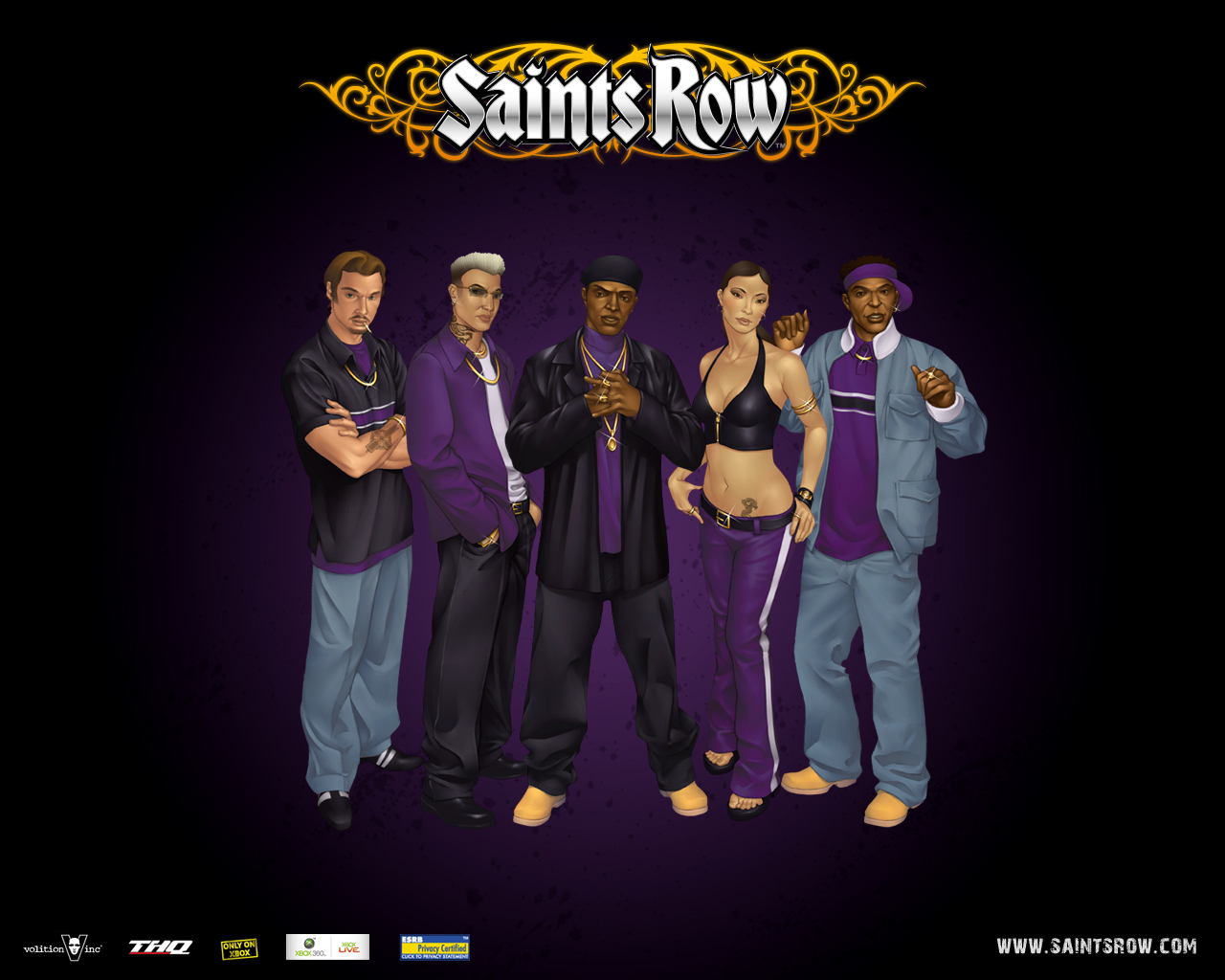 Wallpapers Saints Row 1 Games