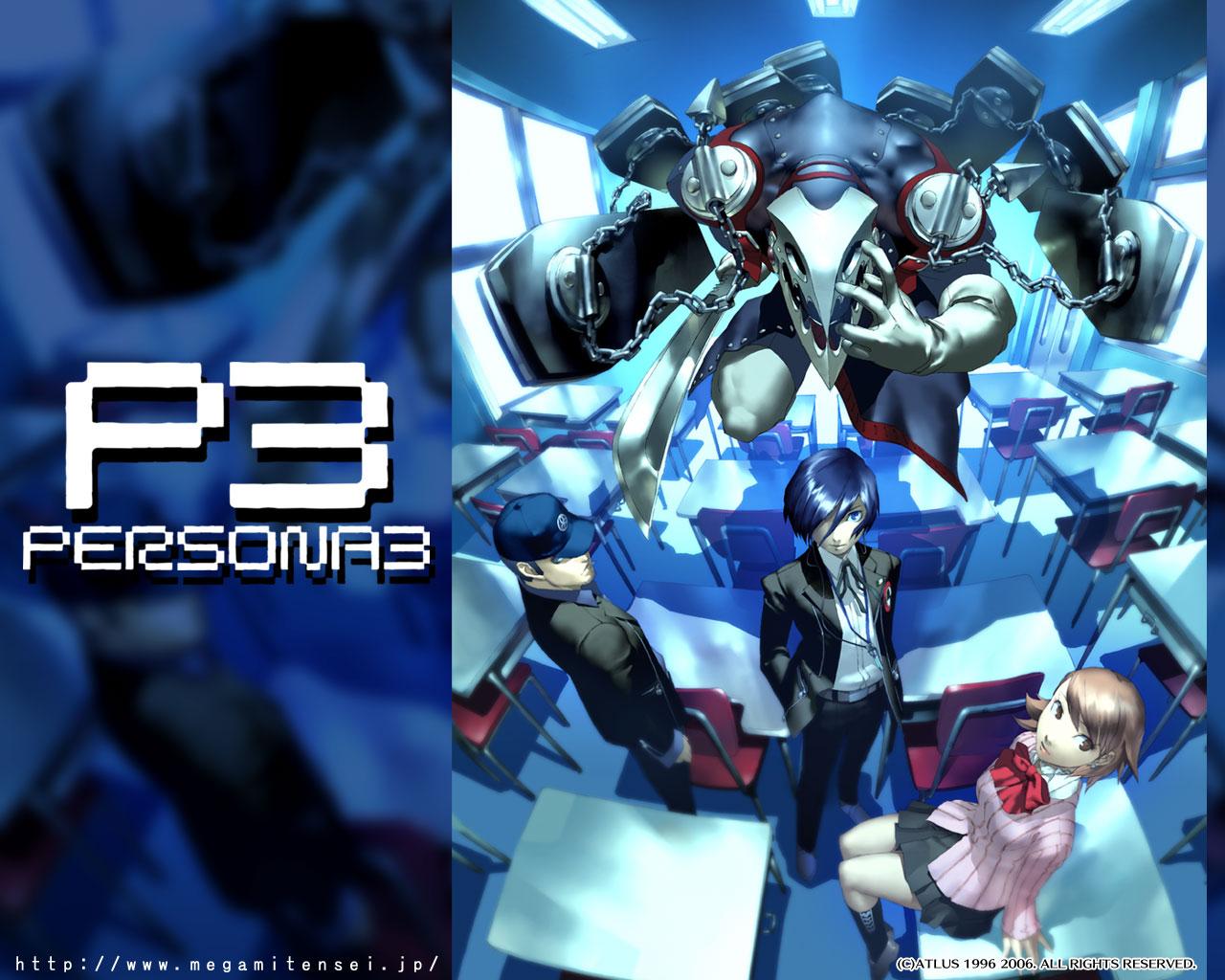Wallpaper Shin Megami Tensei Shin Megami Tensei Persona 3 Games