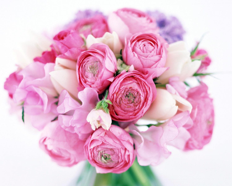 Букеты цветов пионы