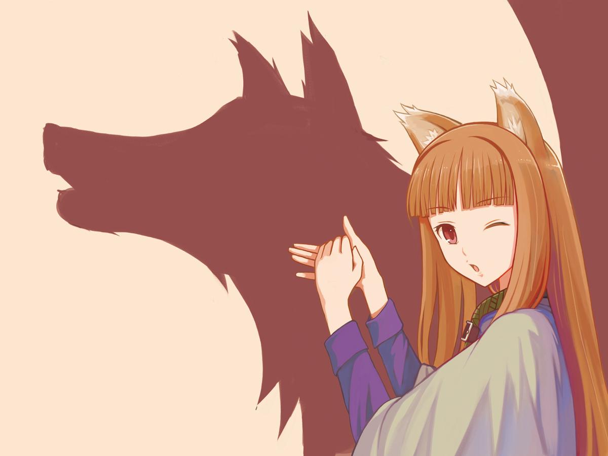 壁紙 狼と香辛料 オオカミ シルエット アニメ ダウンロード 写真