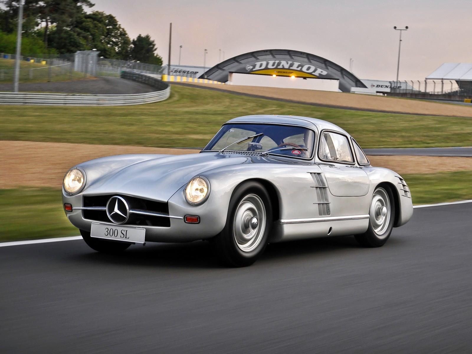 Fonds d'ecran Mercedes-Benz Mercedes 300sl 1953 Voitures ...