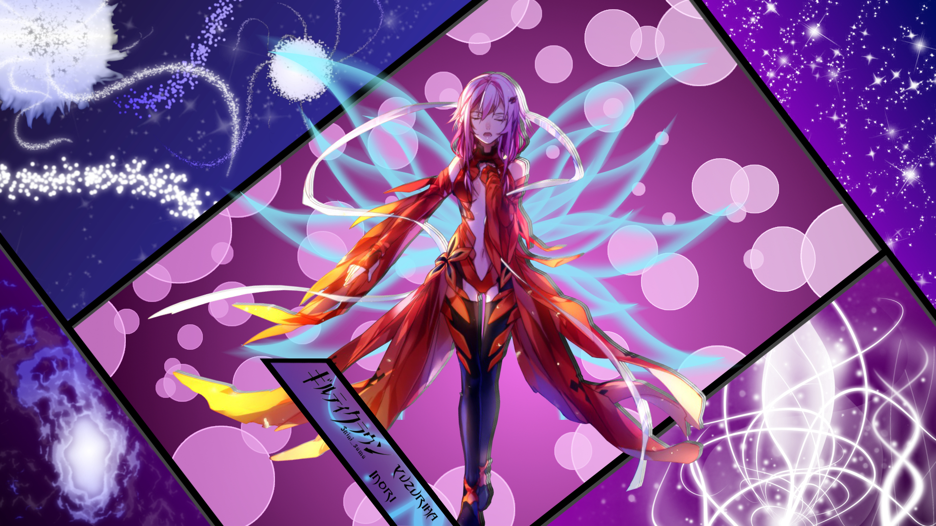 Photo Guilty Crown Anime Female 1920x1080