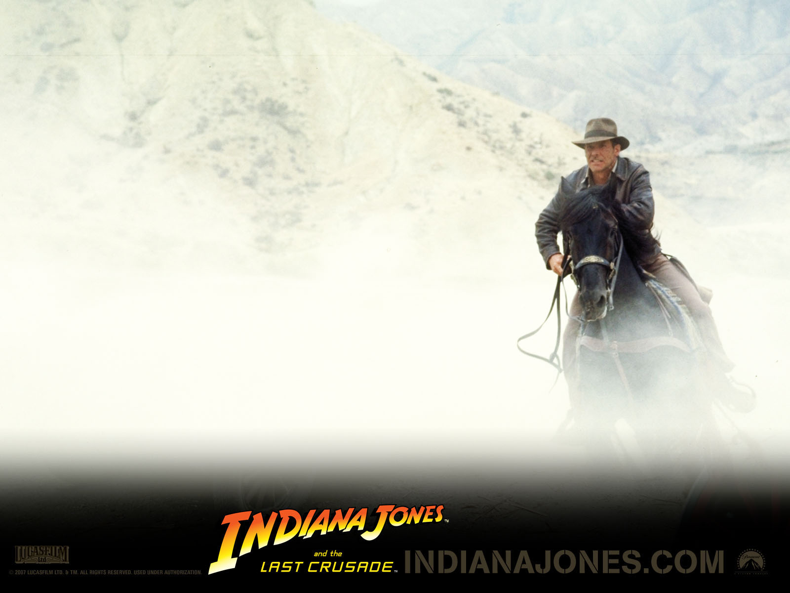 Wallpaper Indiana Jones Indiana Jones and the Last Crusade Movies film
