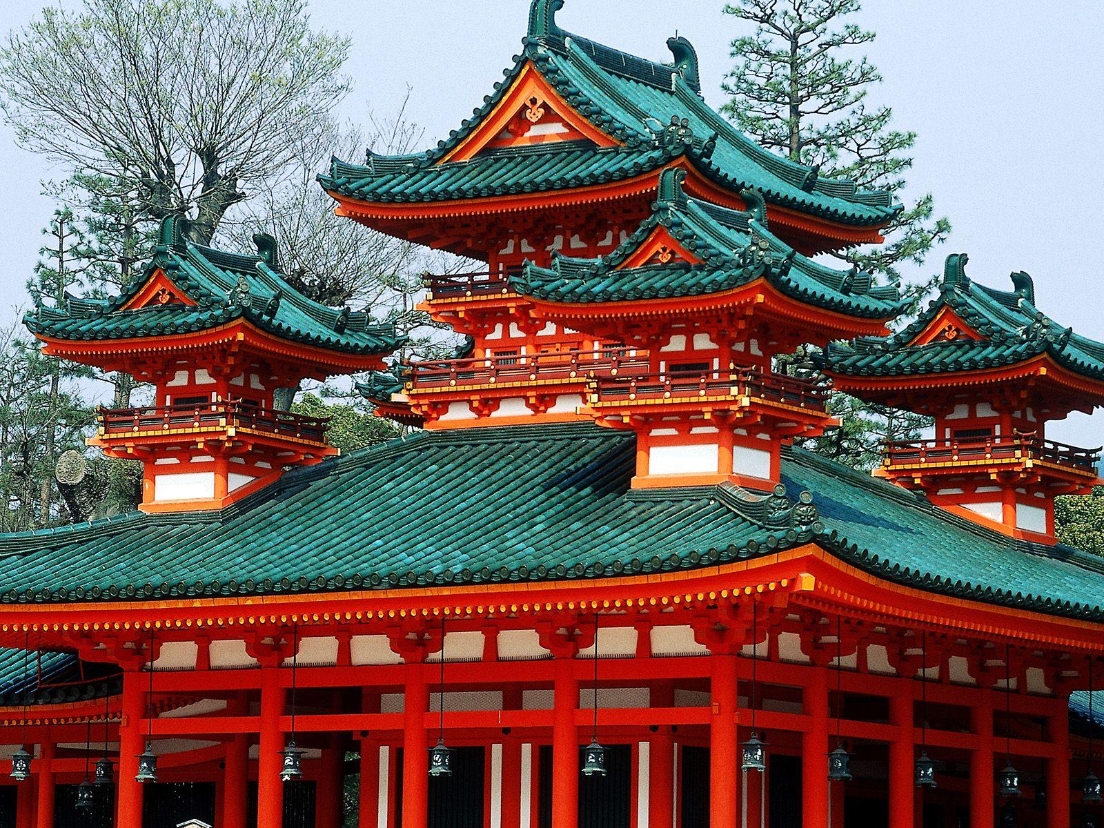 Photos Japan Pagodas Cities