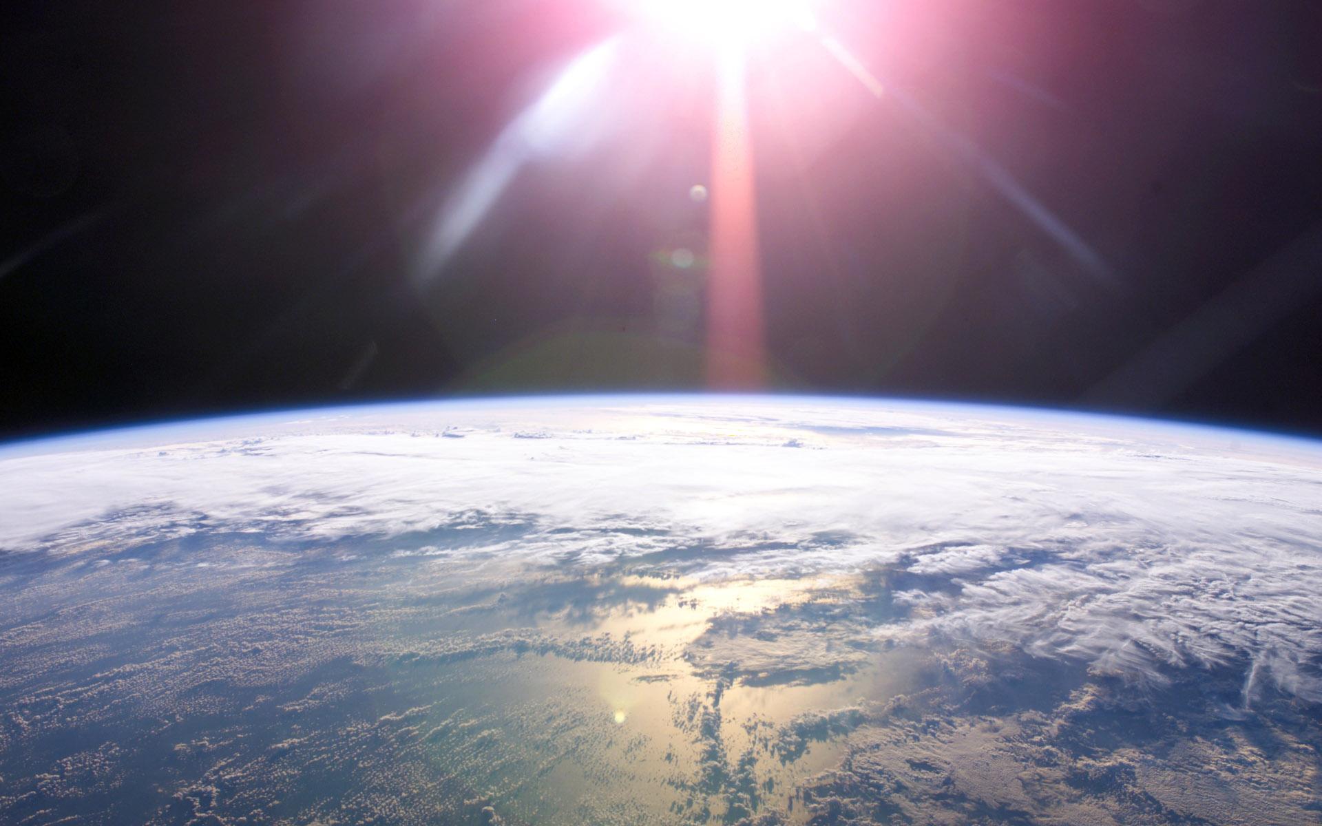 earth orbit video - HD1920×1200