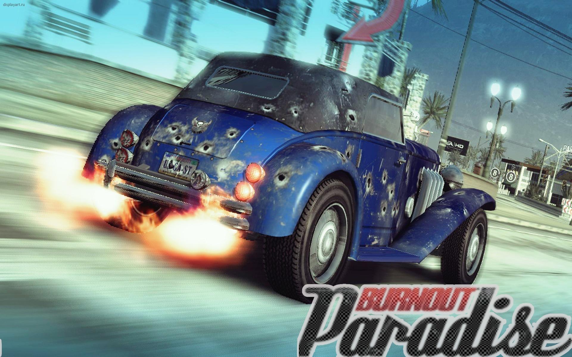 Photo Burnout Burnout Paradise Games