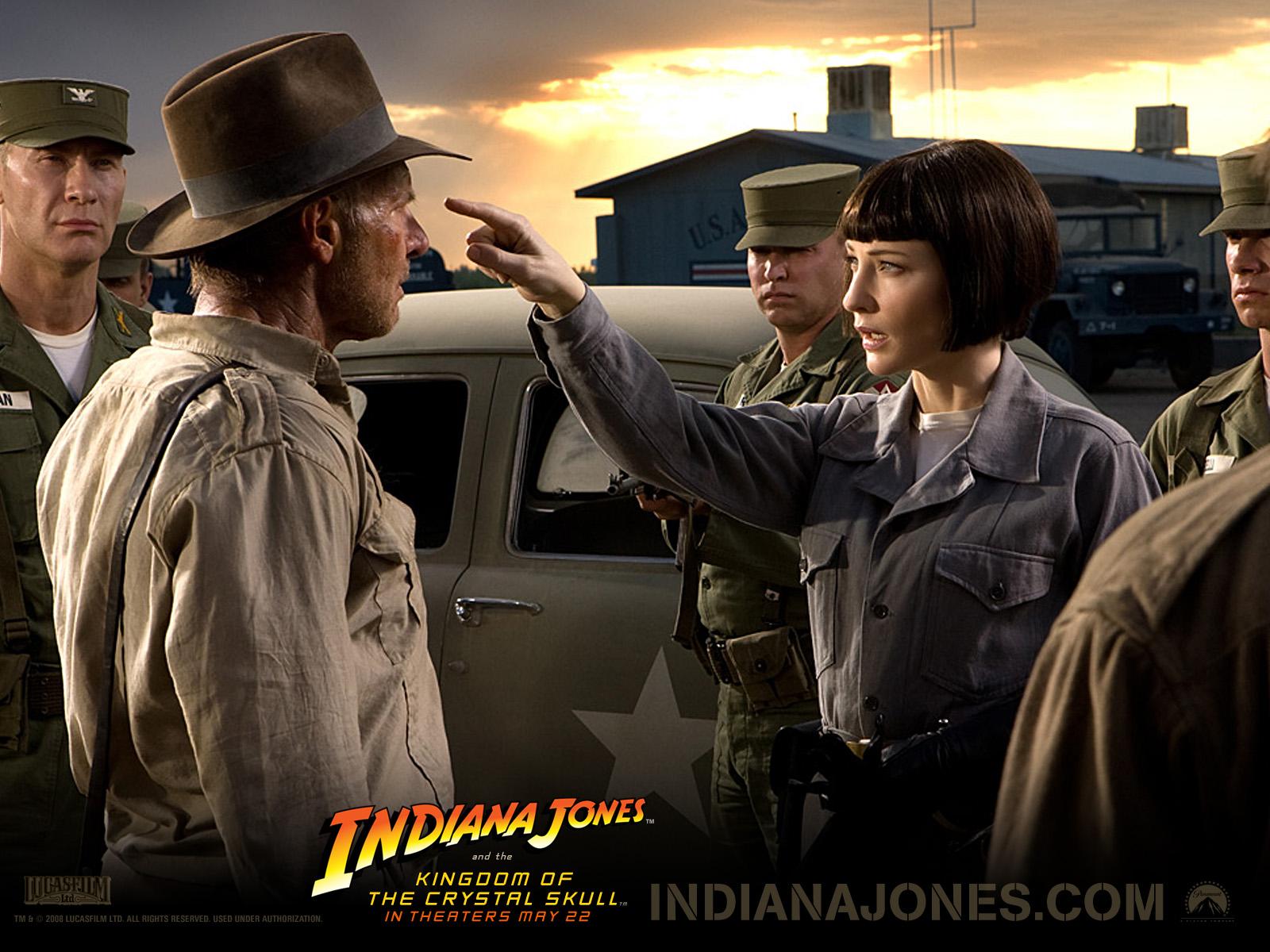 Desktop Wallpapers Indiana Jones Indiana Jones and the Kingdom of the Crystal Skull Movies film