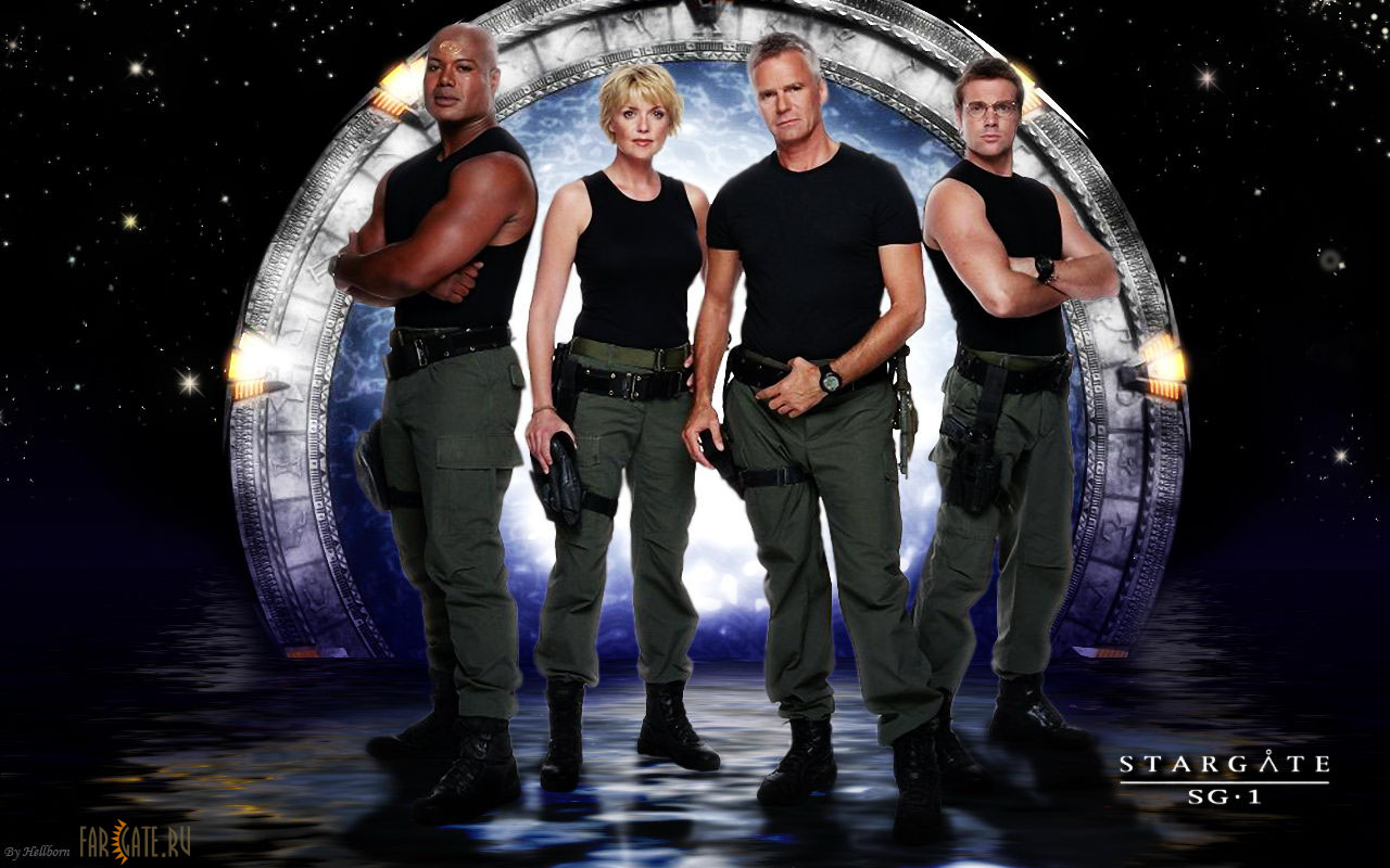 Stargate SG-1. Amanda Tapping, Christopher Judge, Richard Dean ...