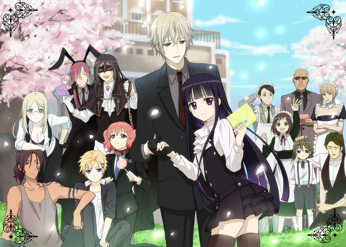 Inu x Boku SS Guys Anime Girls