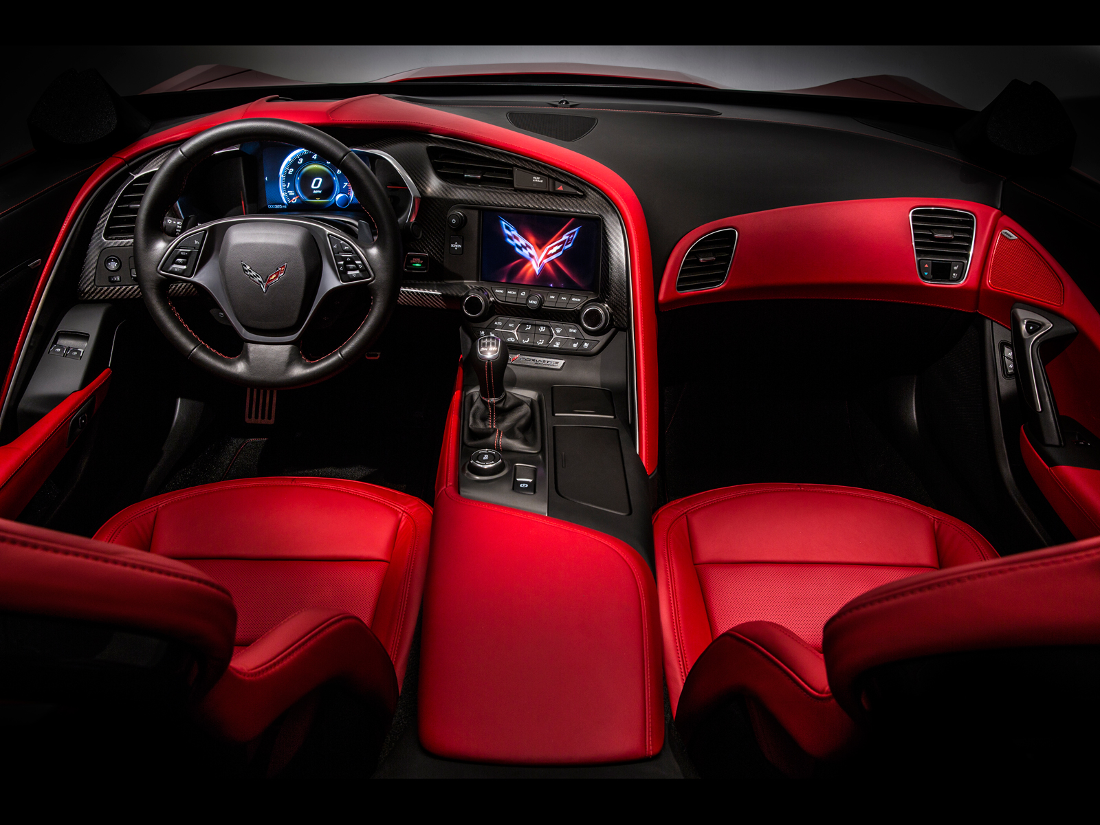 Fonds d'ecran Chevrolet 2014 Chevy Corvette Stingray ...