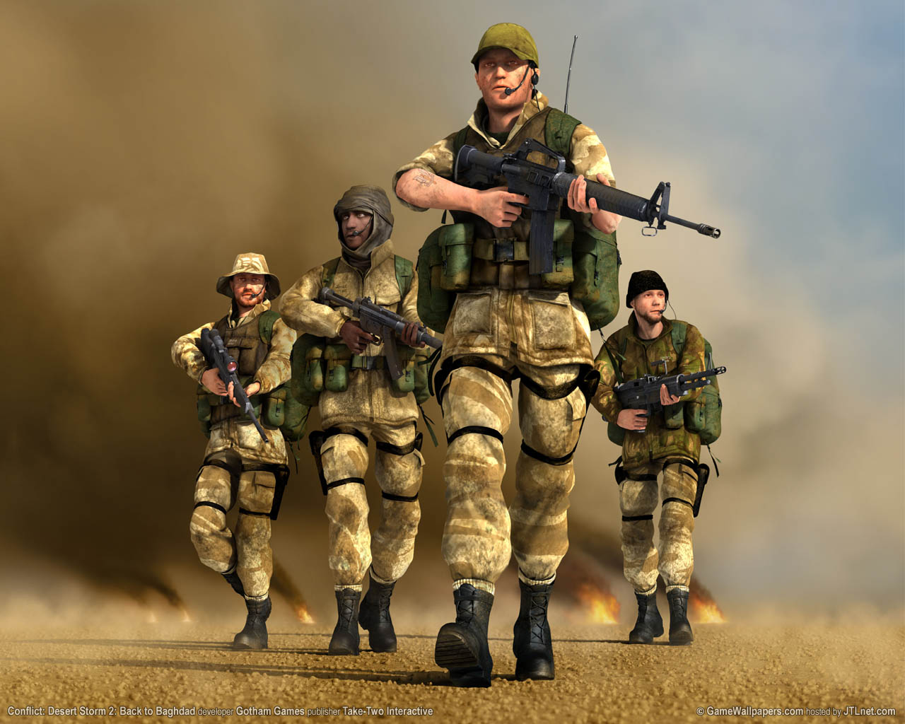 images conflict conflict: desert storm 2 games