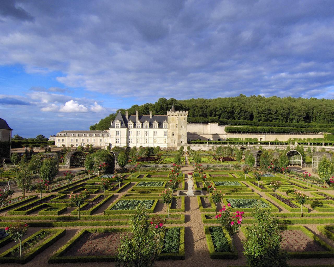 France Castles Cities Landscape design
