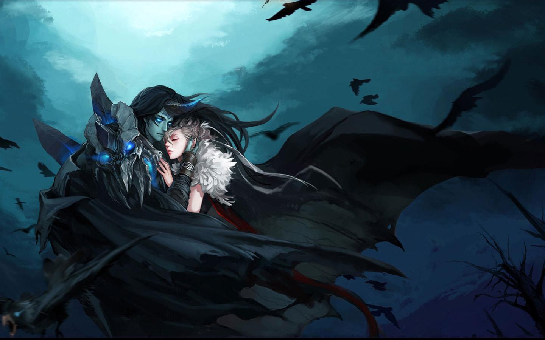 Best Wallpaper Love Fantasy - 256946-werecat  Collection_145149.jpg