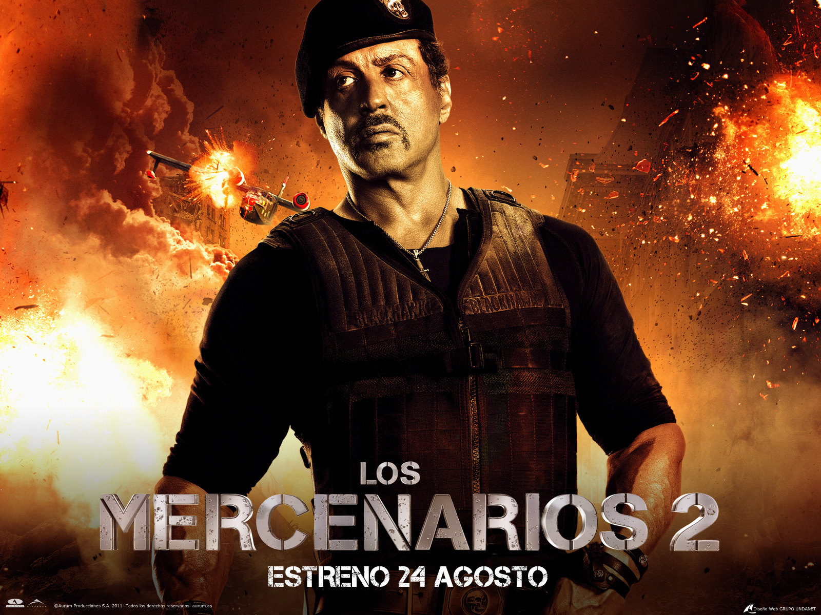 Wallpaper The Expendables 2010 Sylvester Stallone Movies film