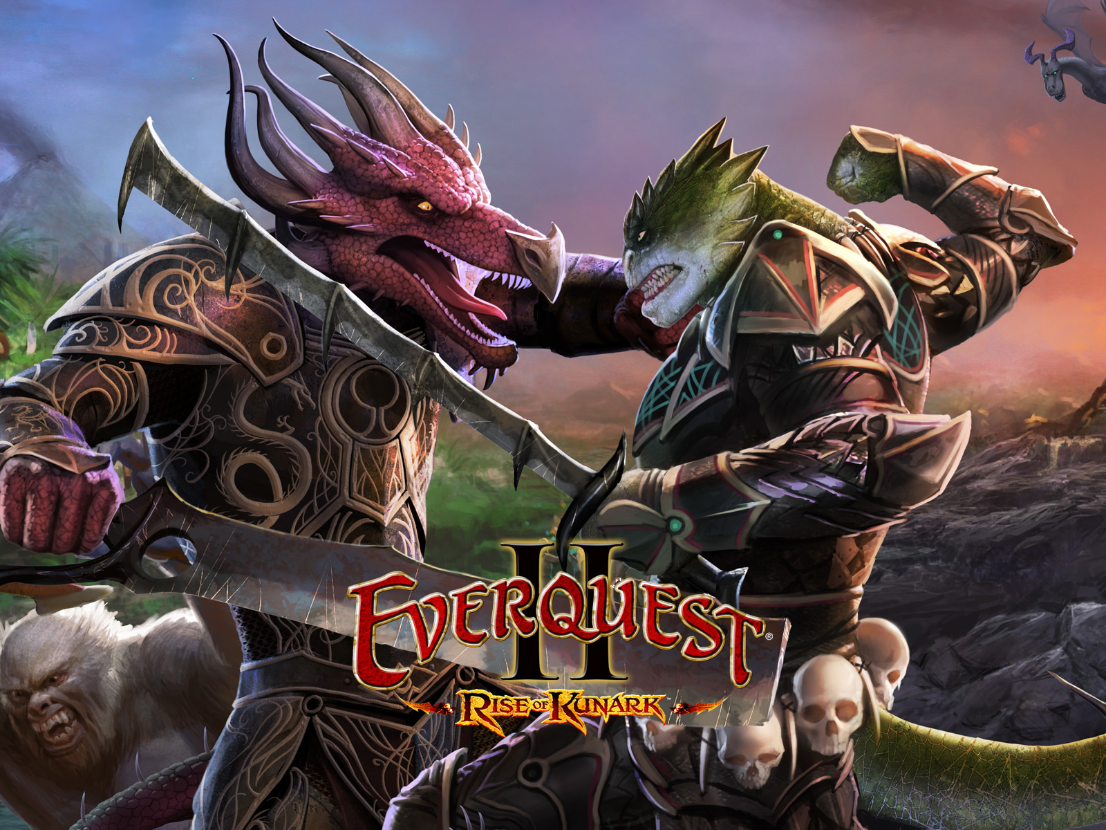 Pictures EverQuest EverQuest II: Rise of Kunark vdeo game Games