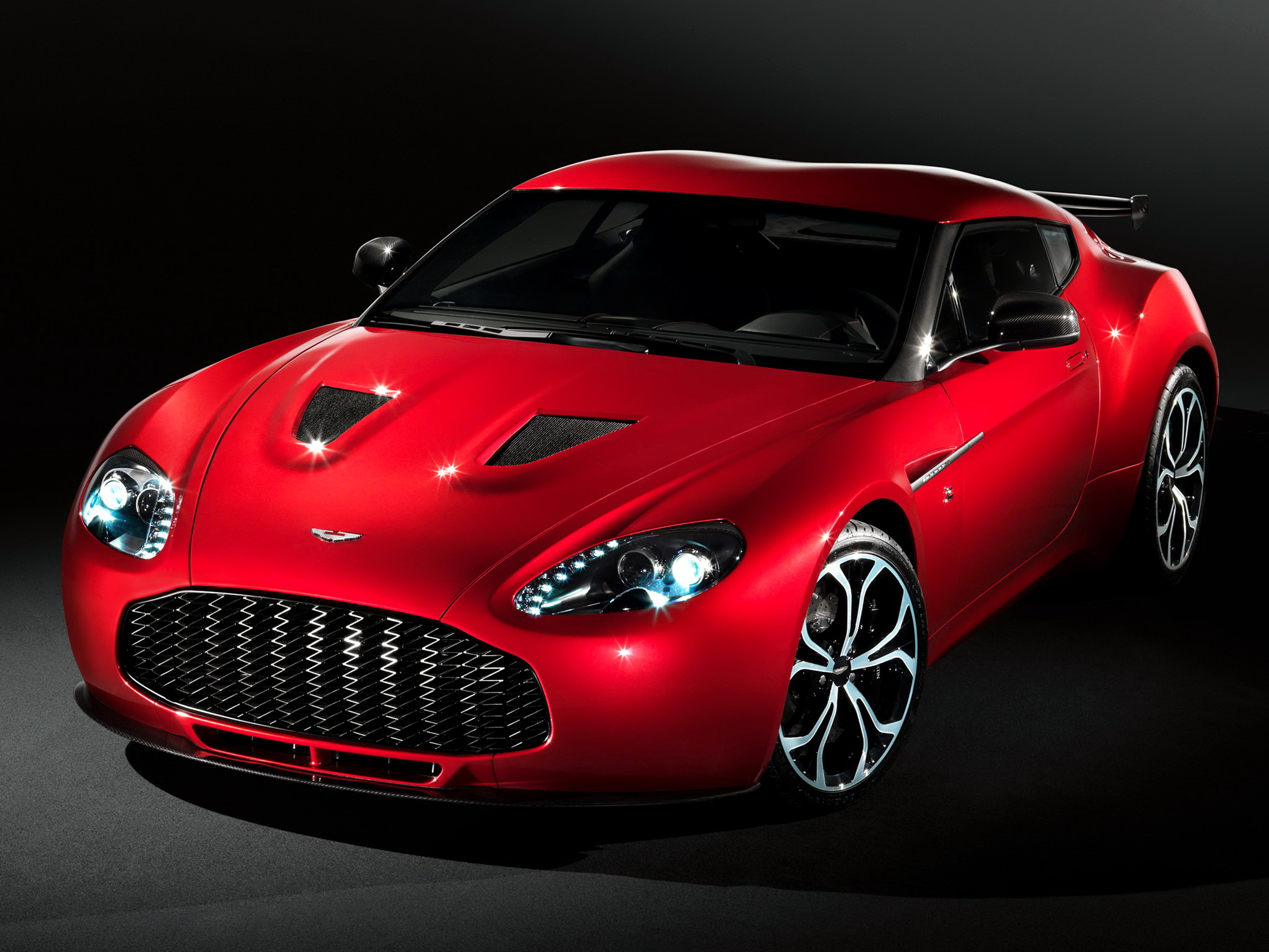 Photos Aston Martin V12 Zagato 2012 Cars 2048x1536